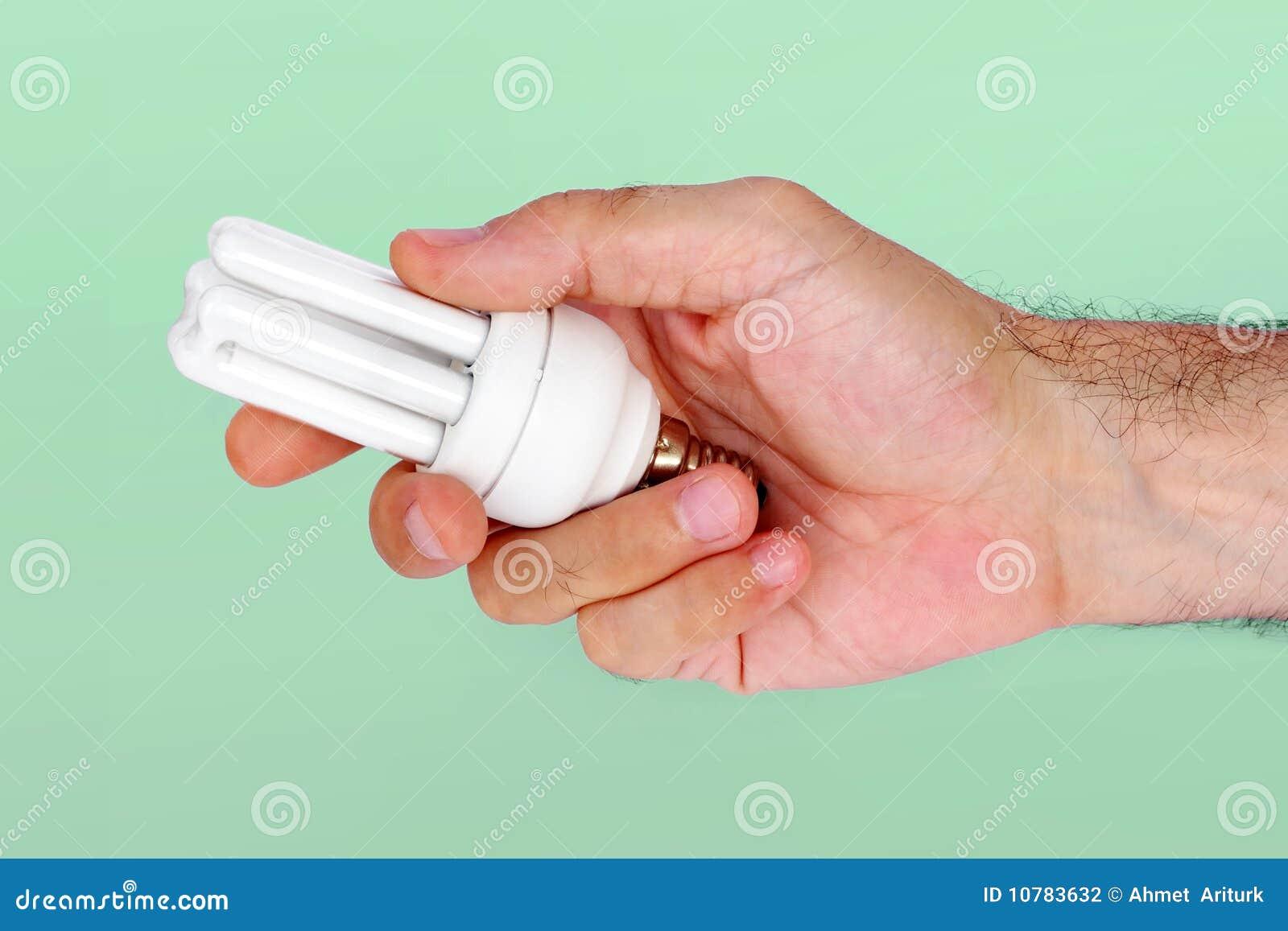 De holdingslamp van de hand