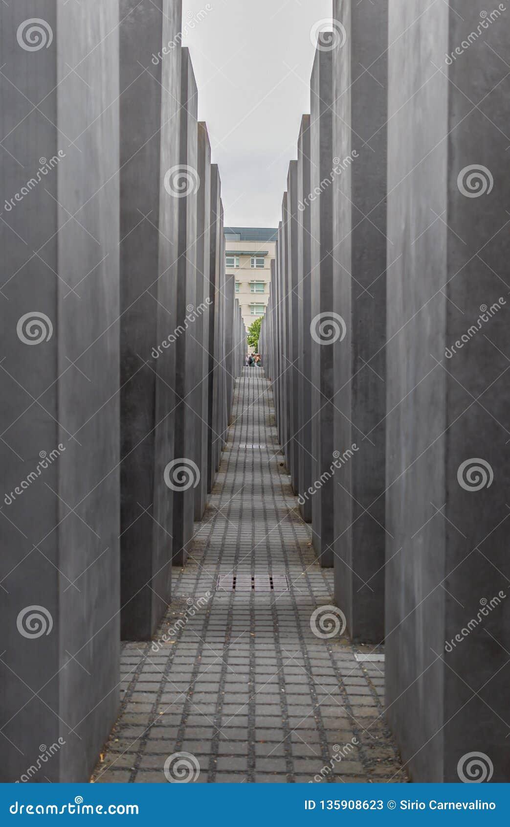 De Holocaust Herdenkingsberlijn duitsland