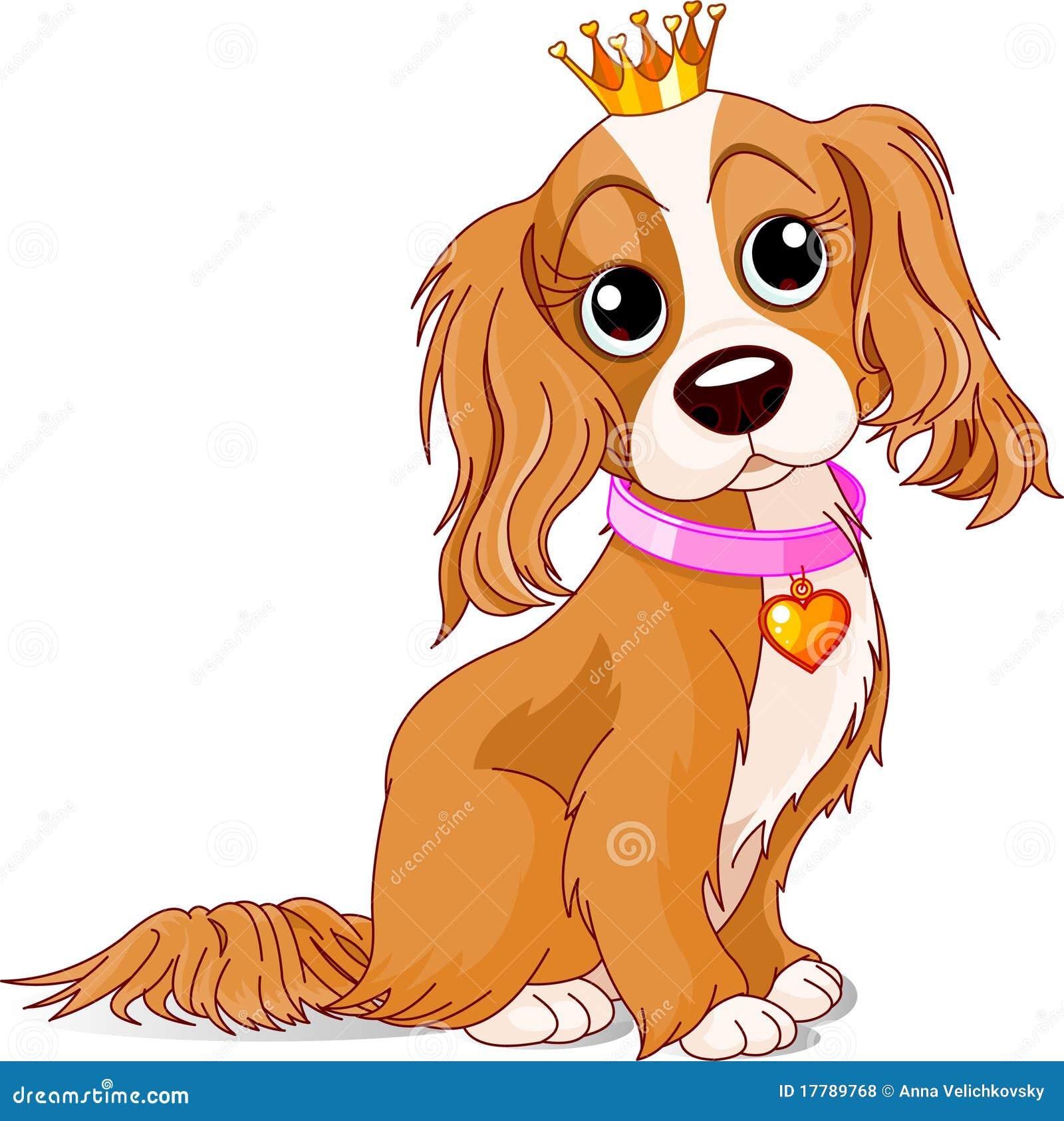 De hond van de royalty