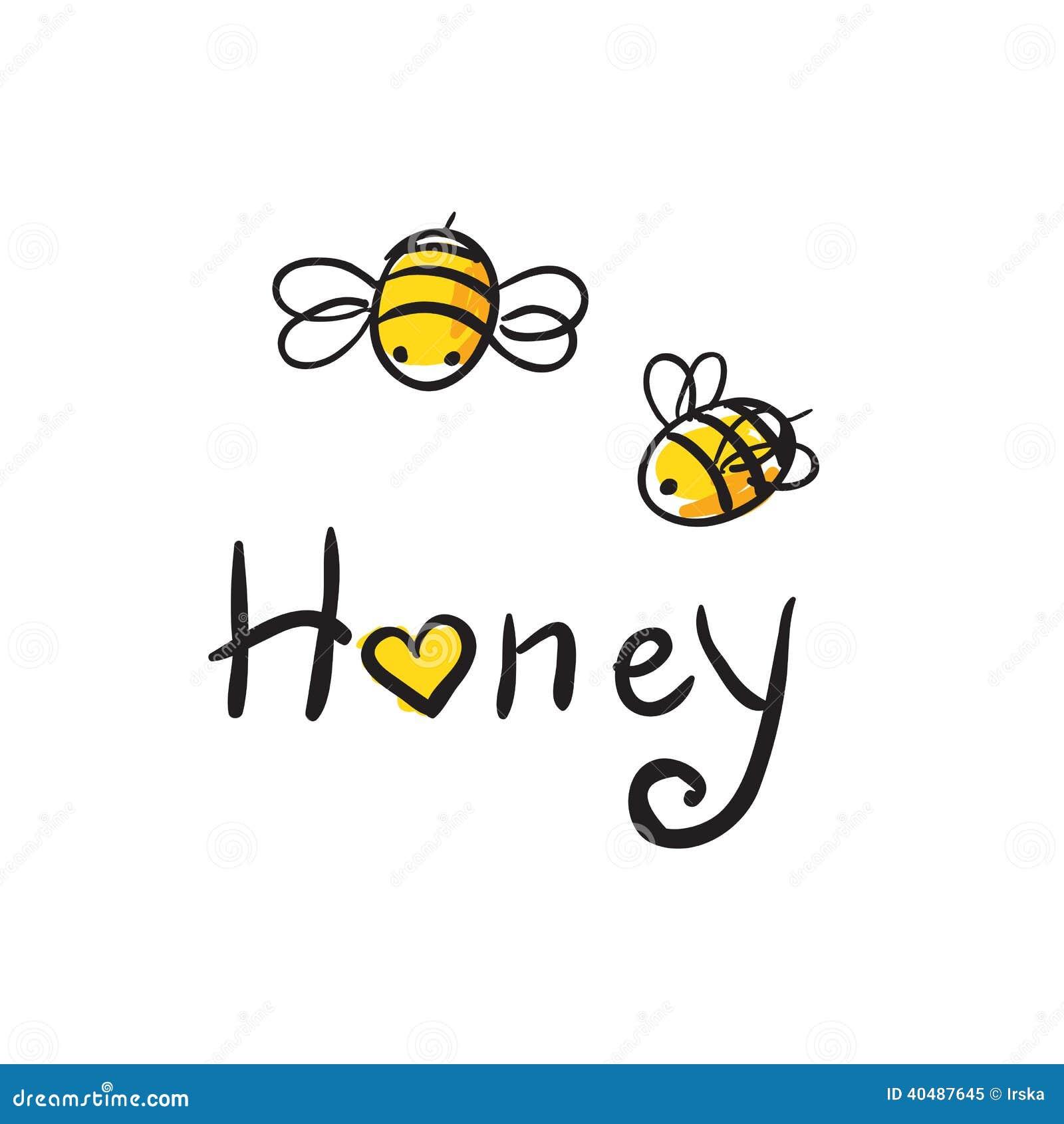 De honing van de bijenliefde