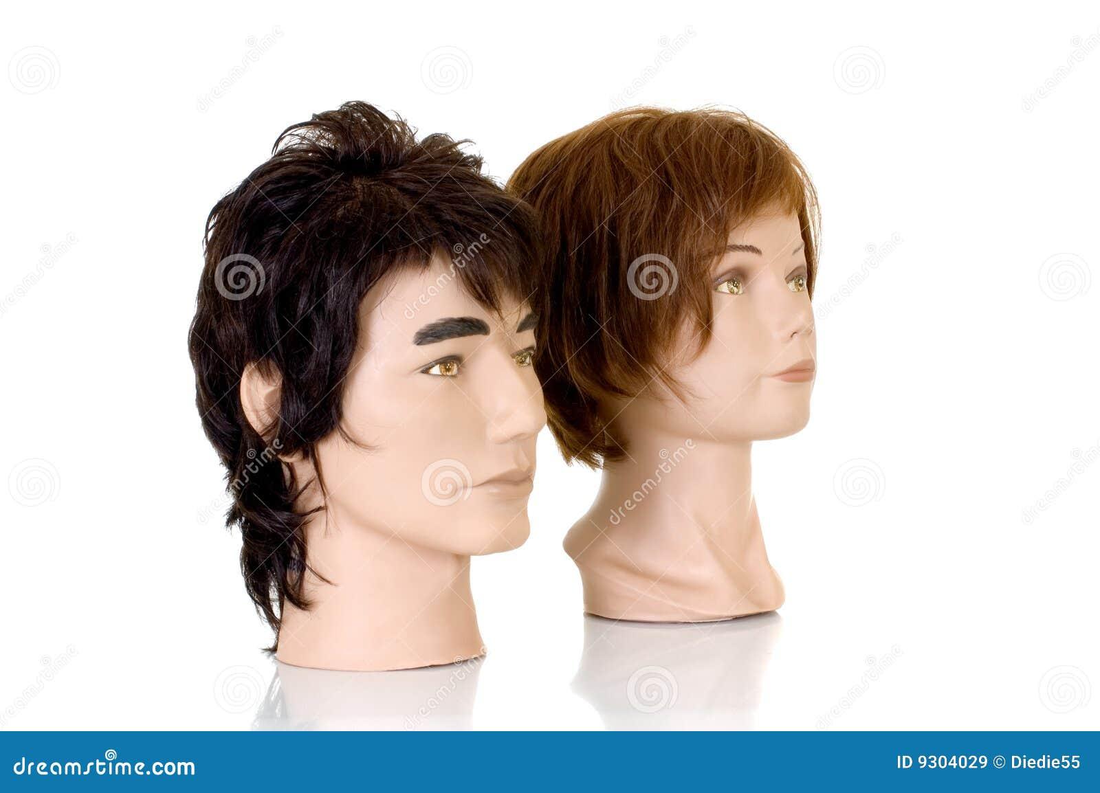 De hoofden van de modellering royalty vrije stock afbeeldingen afbeelding 9304029 - Witte kapper ...