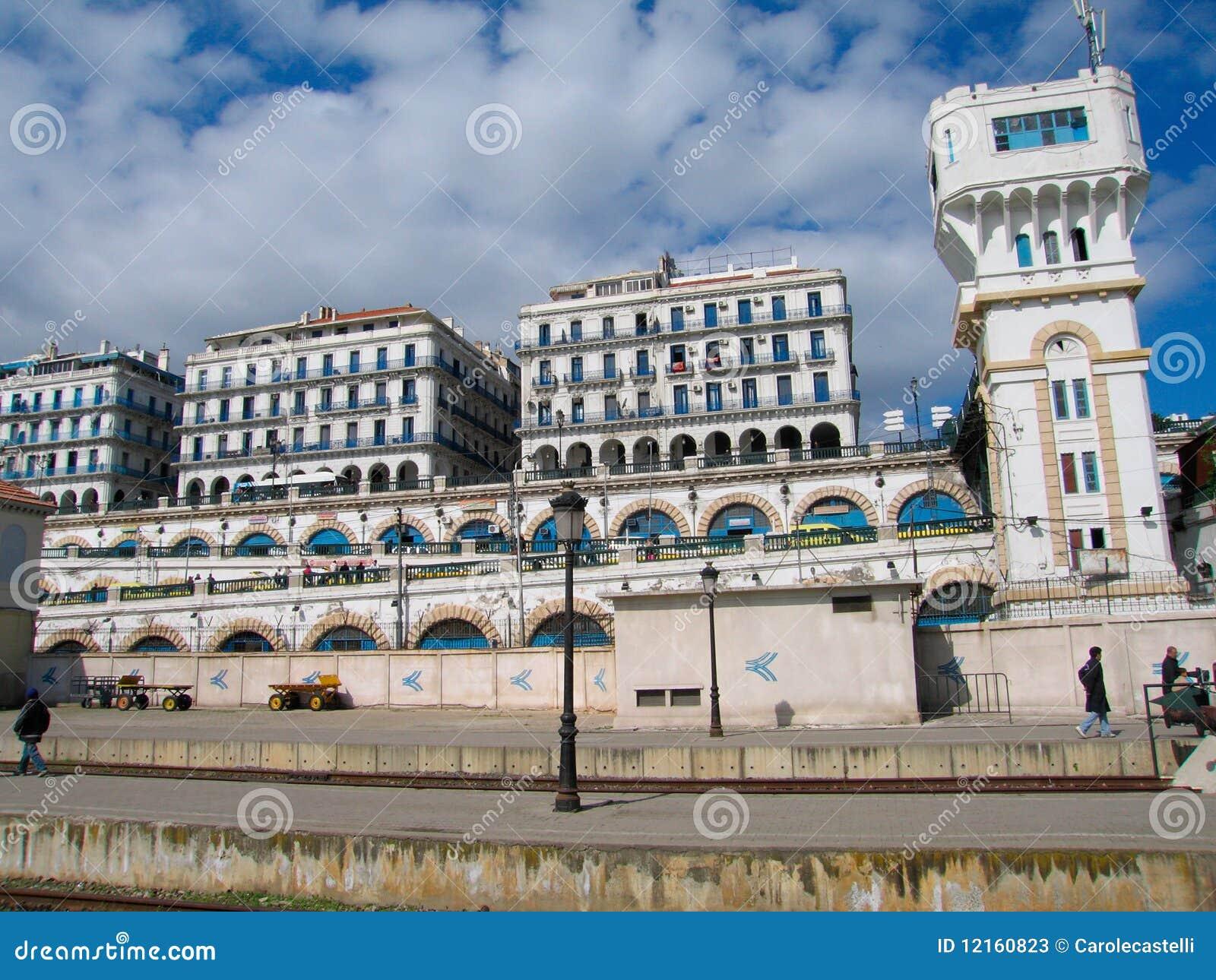 De hoofdstad van Algiers van het land van Algerije