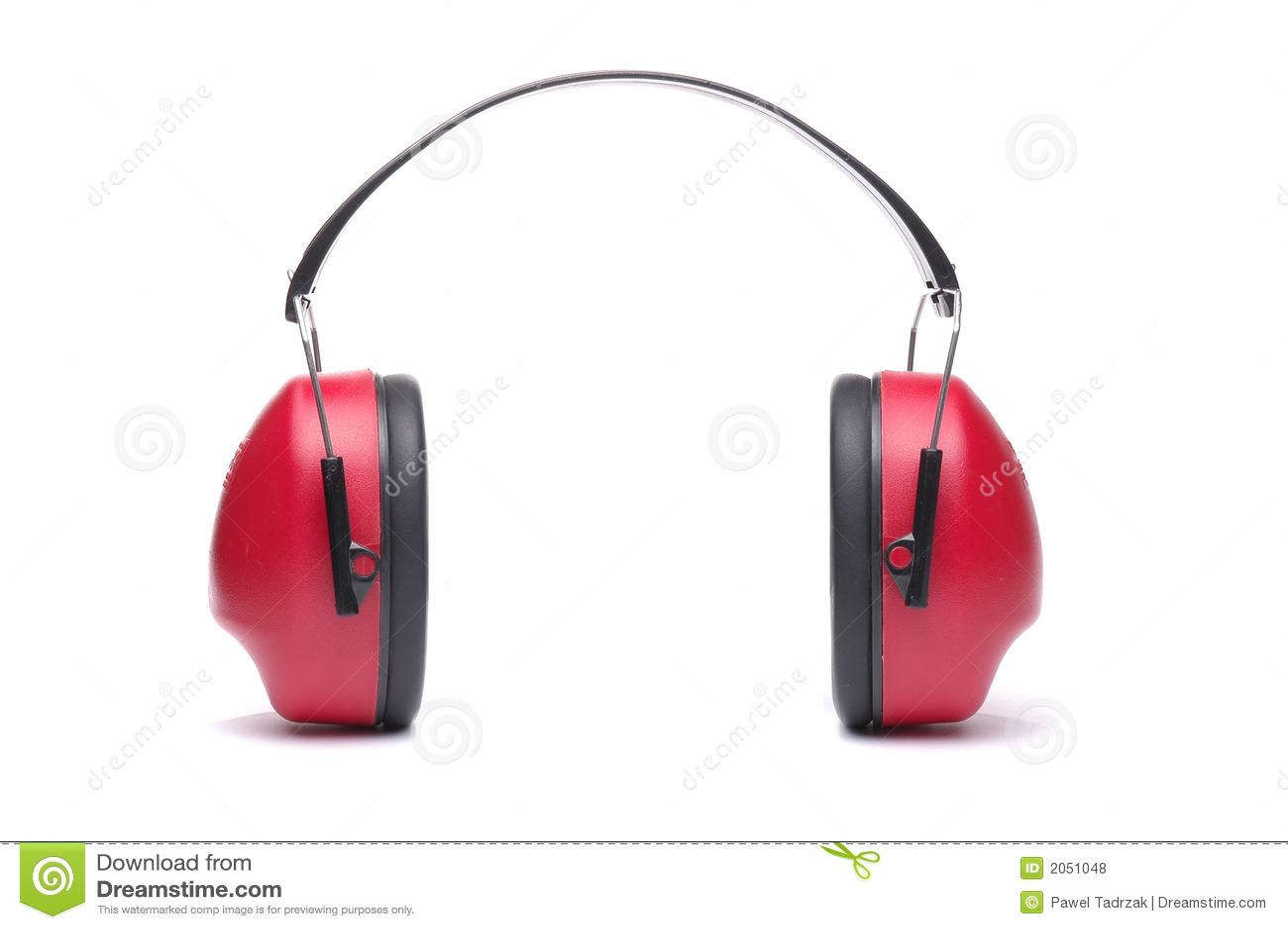 De hoofdtelefoons van de bescherming