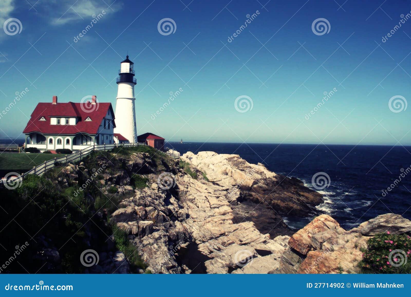De HoofdVuurtoren van Portland, Portland, Maine