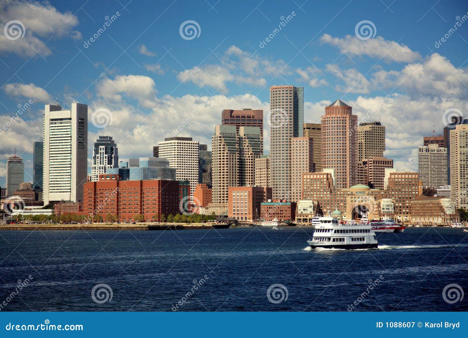De horizon van Boston