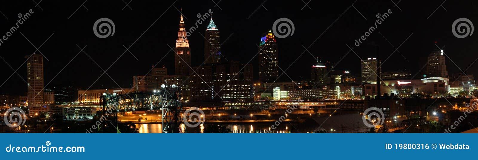 De Horizon van Cleveland Ohio