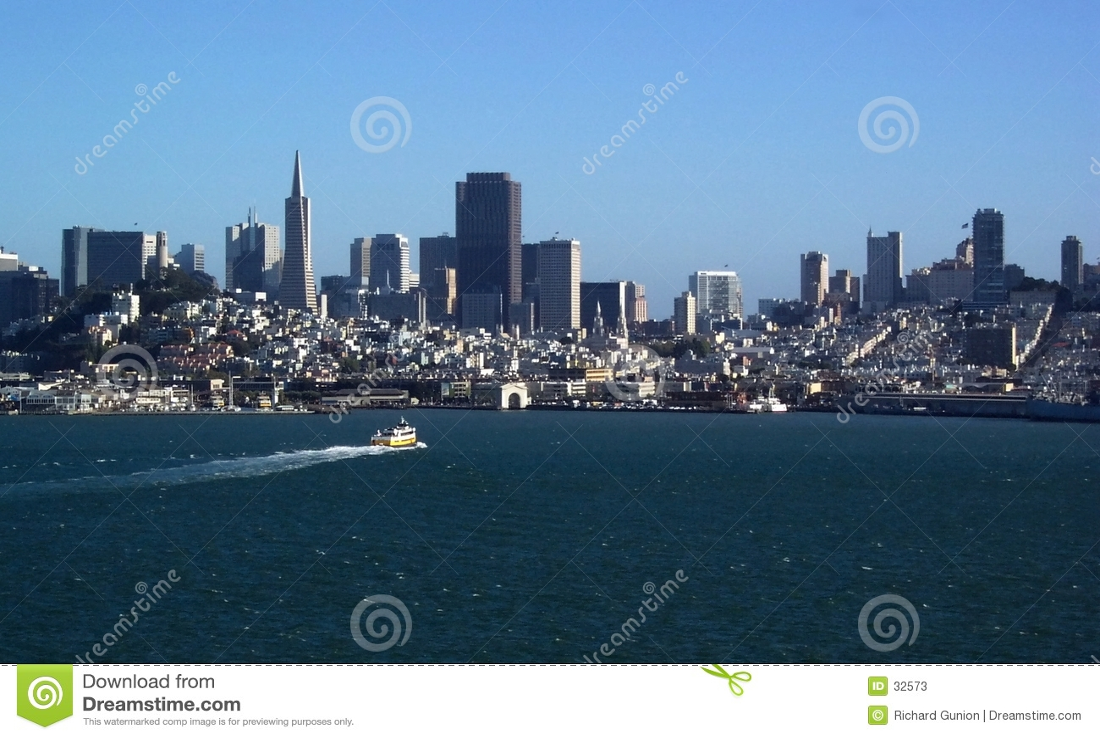 De Horizon van de Baai van San Francisco