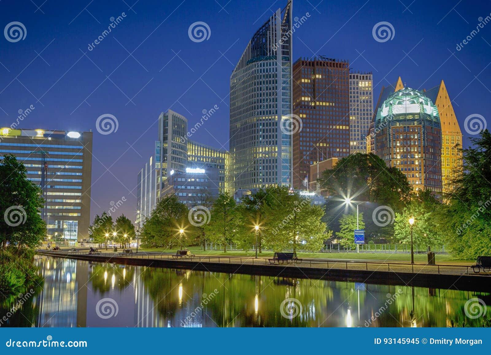 De Horizon van de Stad Den Haag van Den Haag in Nederland