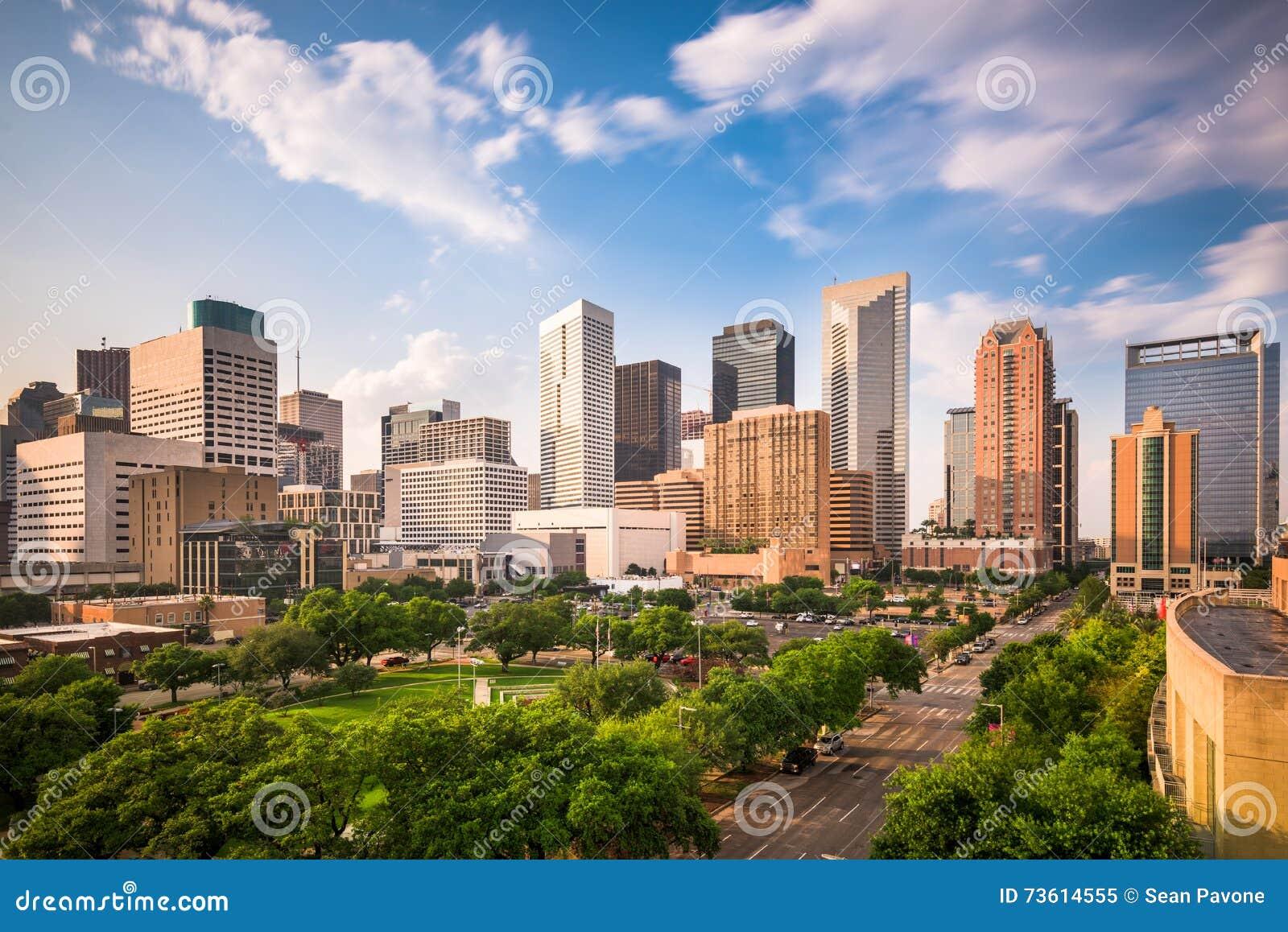 De Horizon van Houston Texas