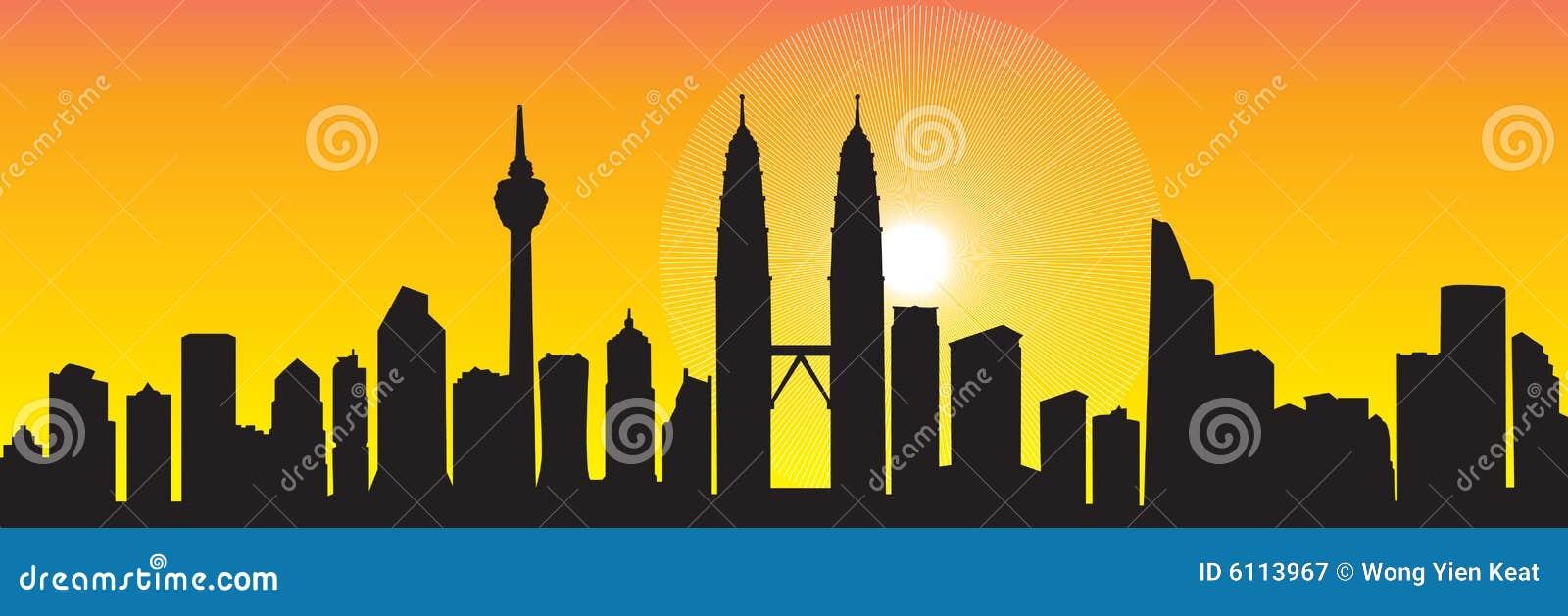 De Horizon van Kuala Lumpur