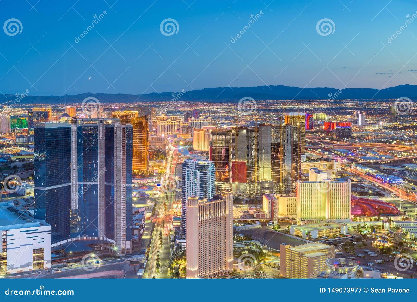 De Horizon van Las Vegas, Nevada, de V.S.