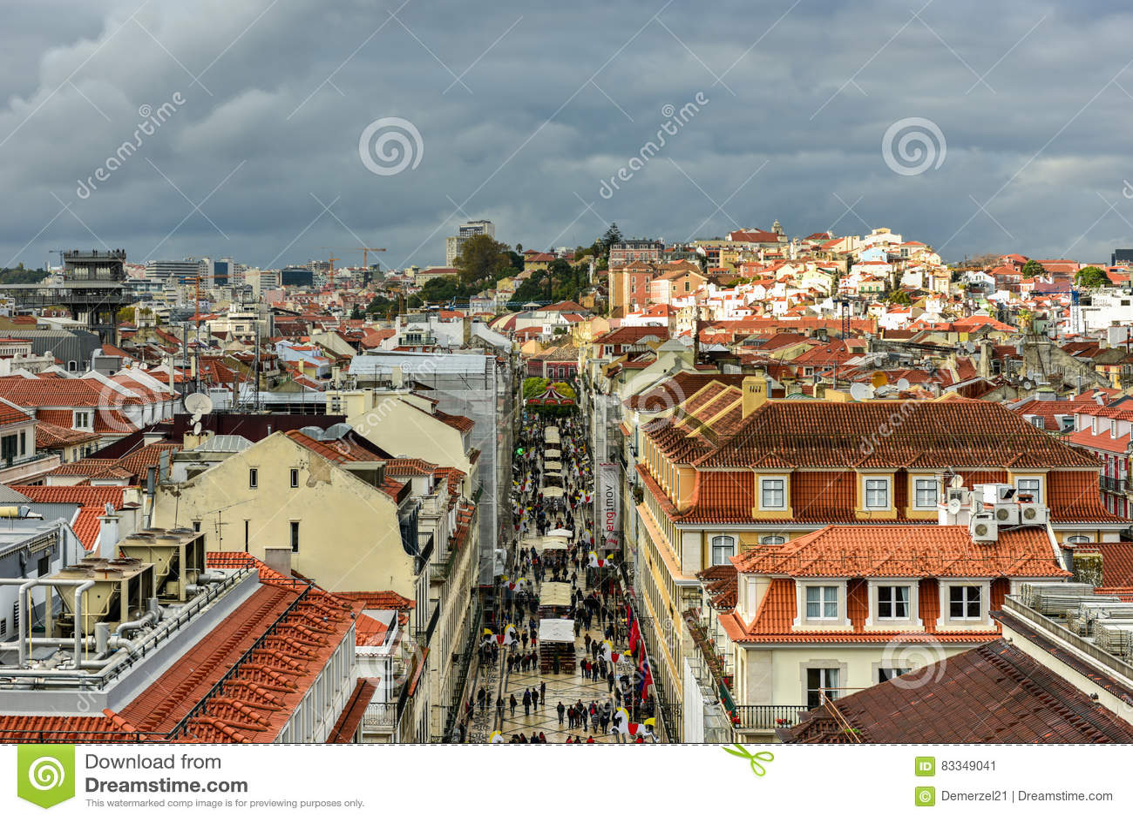 De Horizon van Lissabon - Portugal