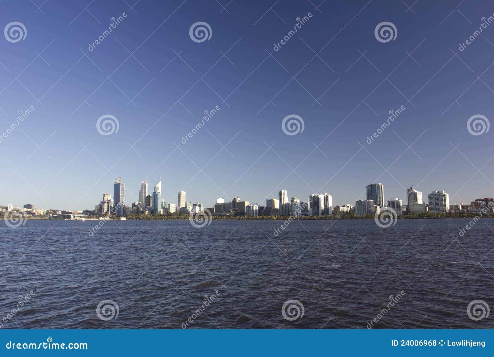 De horizon van Perth