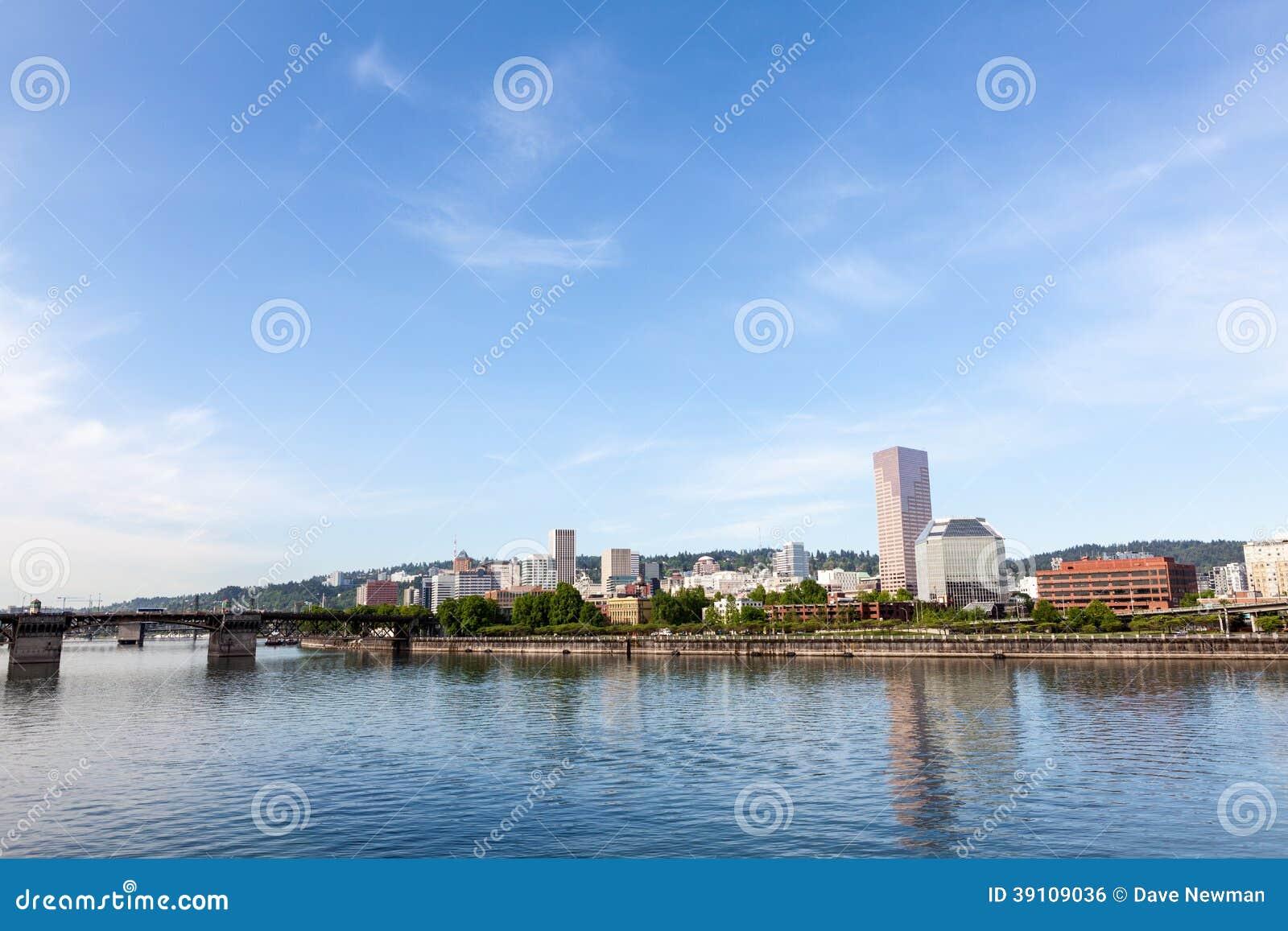 De horizon van Portland, Oregon