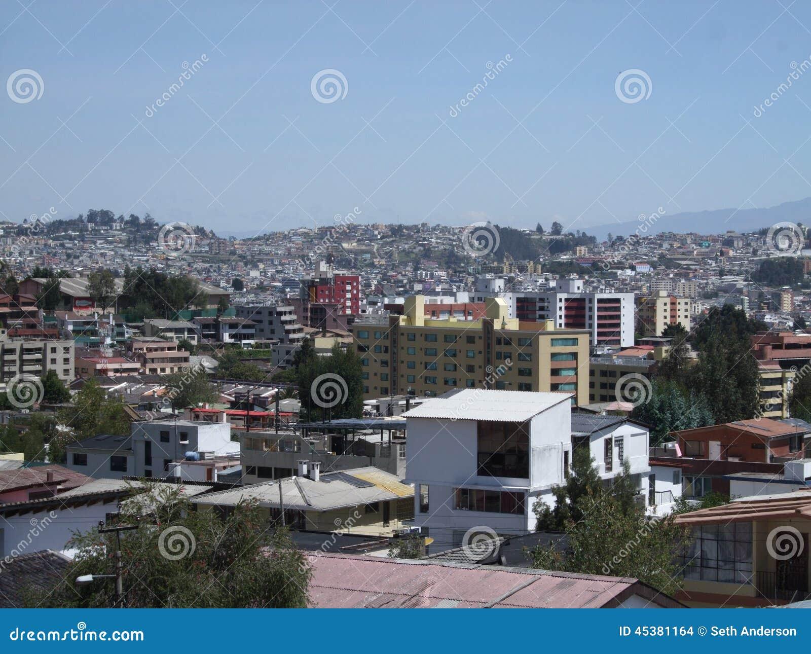 De Horizon van Quitoecuador