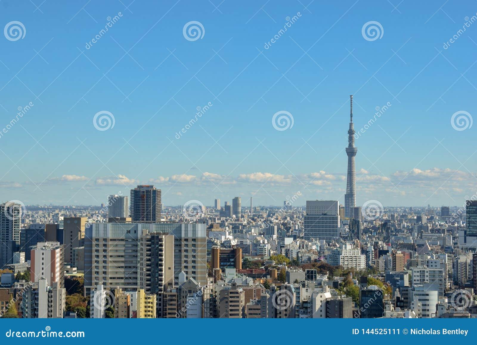 De Horizon van Tokyo - Skytree