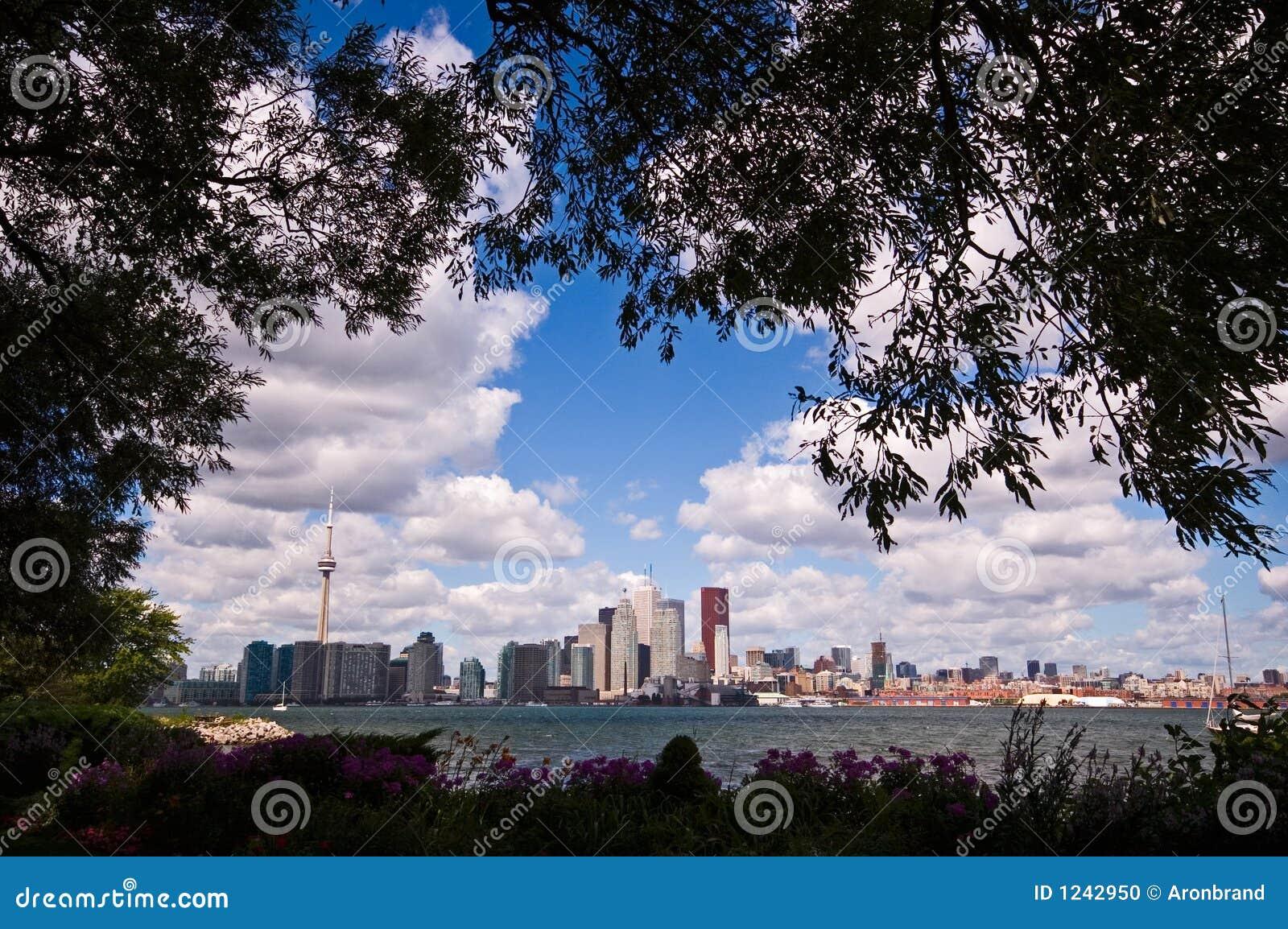 De horizon van Toronto