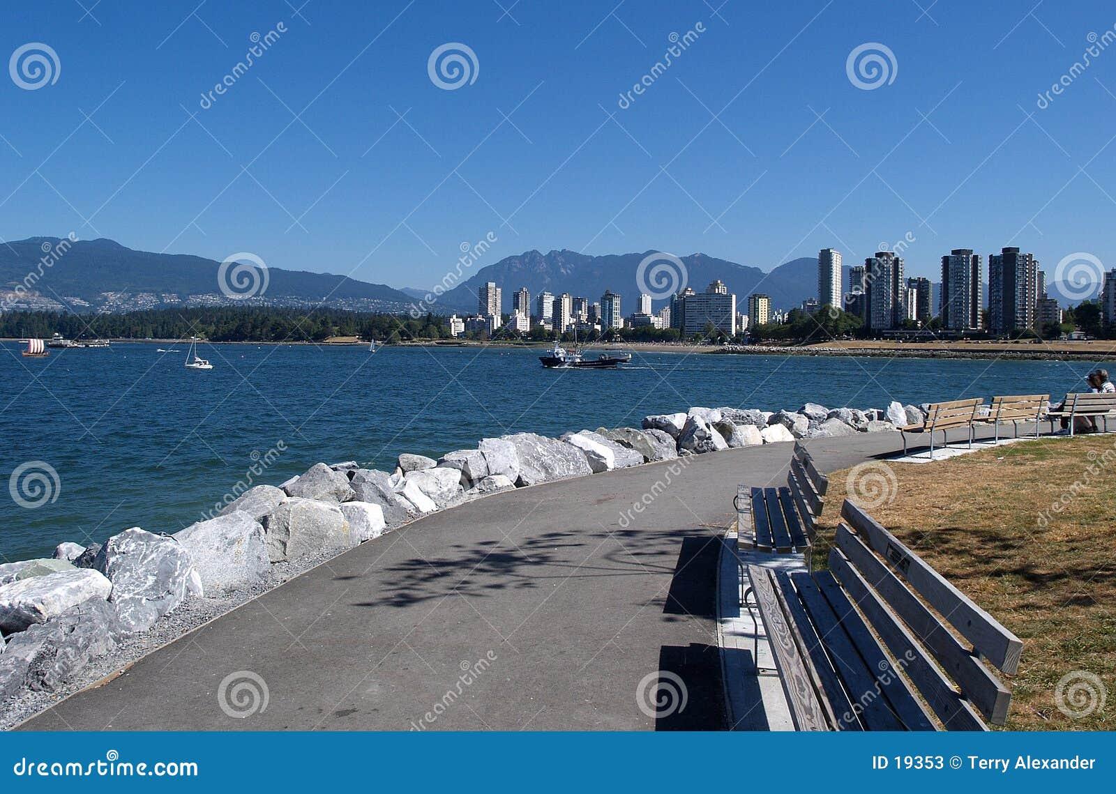 De horizon van Vancouver