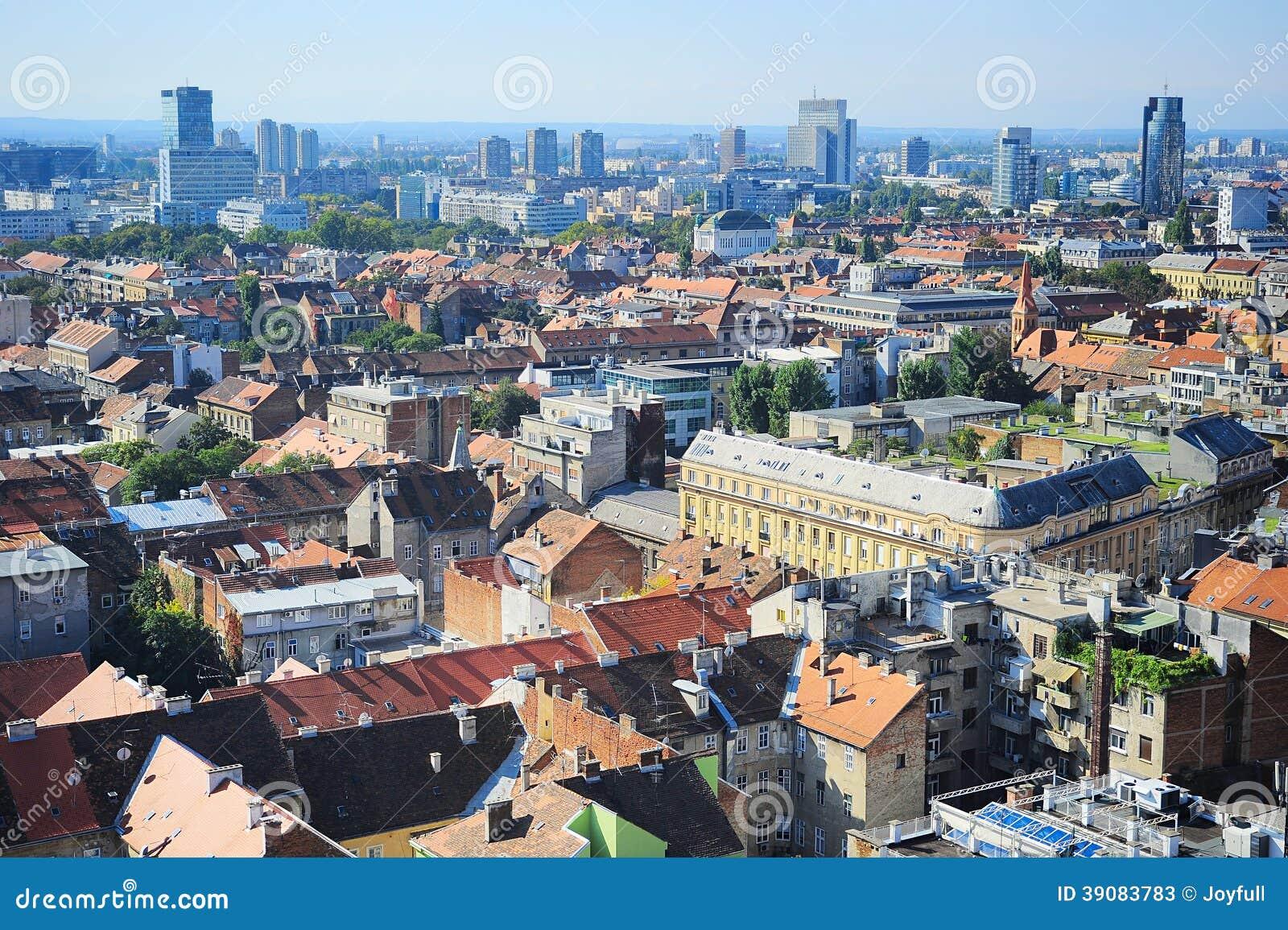 De horizon van Zagreb