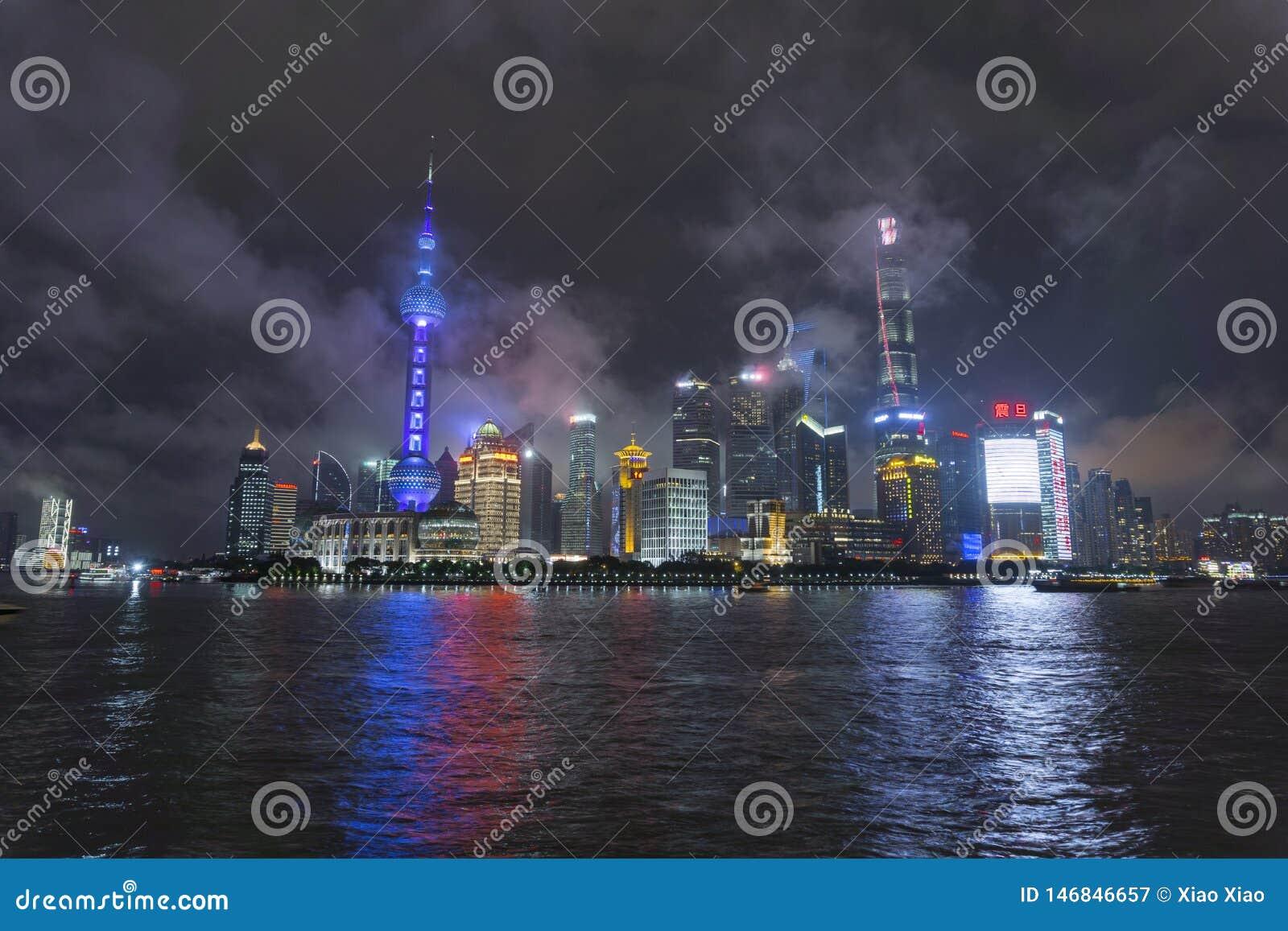 De horizonnacht van Shanghai