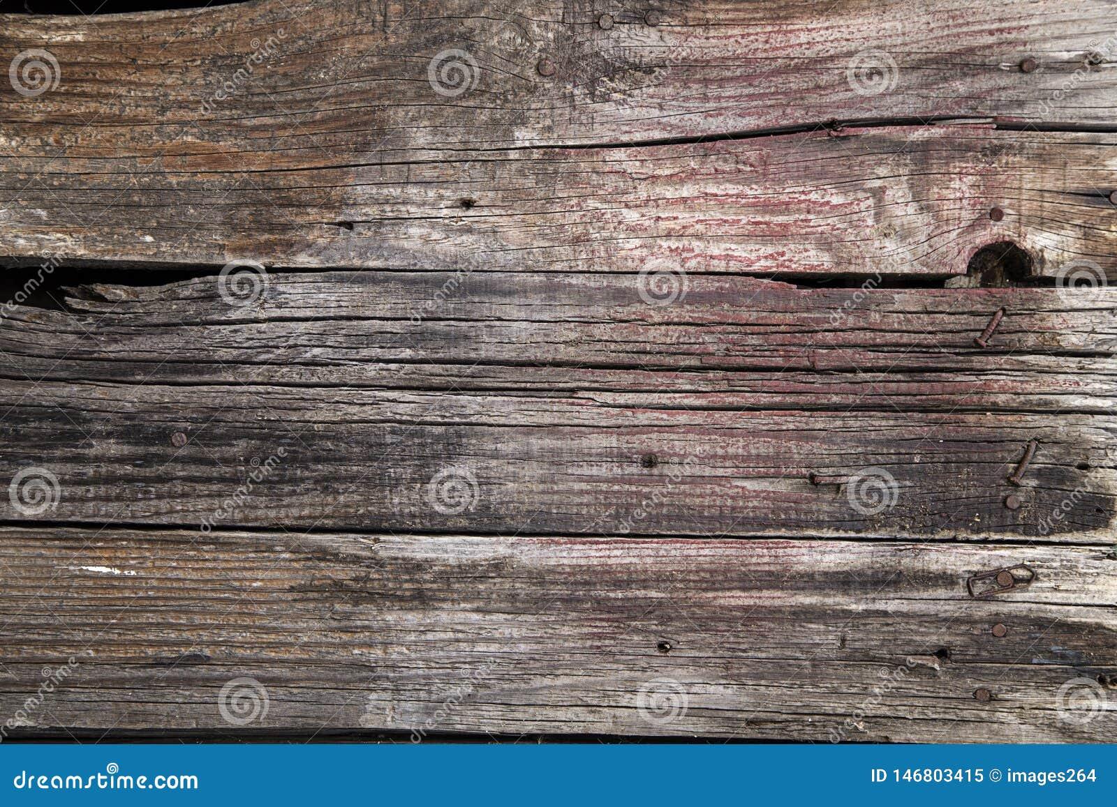 De houten achtergrond van Grunge