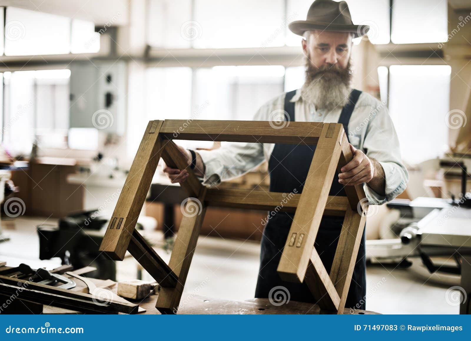De Houten Conc Workshop van timmermanscraftmanship carpentry handicraft