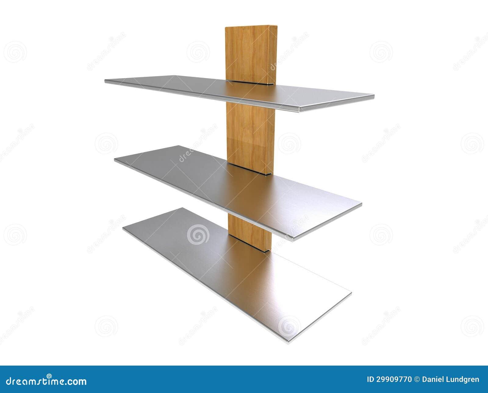De houten Plank van het Metaal