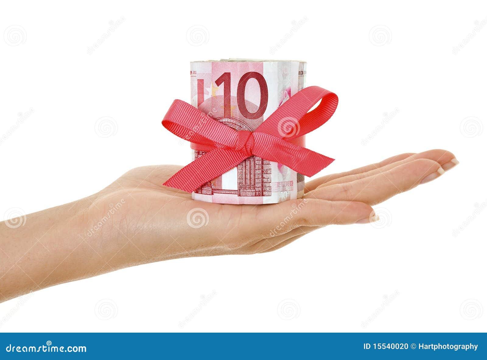 De huidige euro van het geld