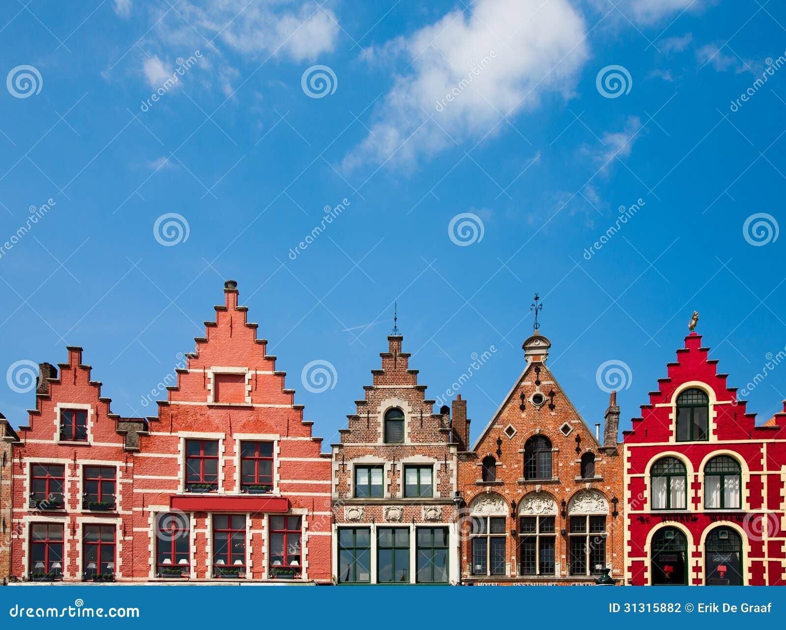 De huizen van brugge stock foto afbeelding bestaande uit muur 31315882 - Huizen van de wereldbank ...