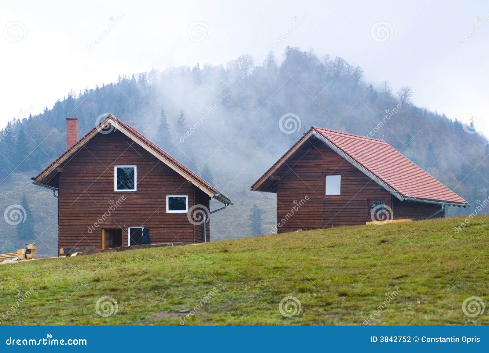 De huizen van de berg stock fotografie afbeelding 3842752 - Huizen van de wereldbank ...