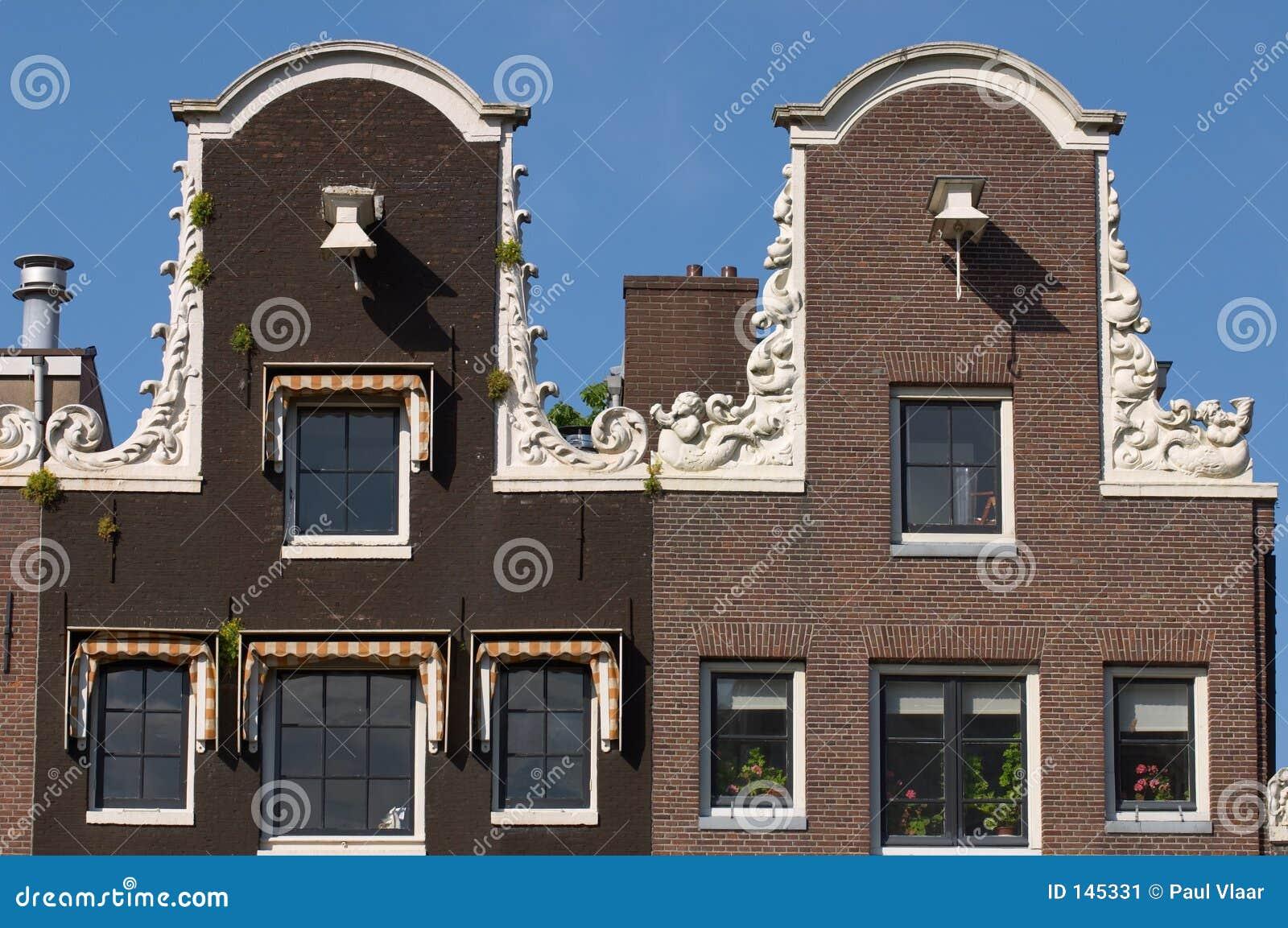 De huizen van het kanaal van amsterdam stock afbeelding afbeelding 145331 - Huizen van de wereldbank ...
