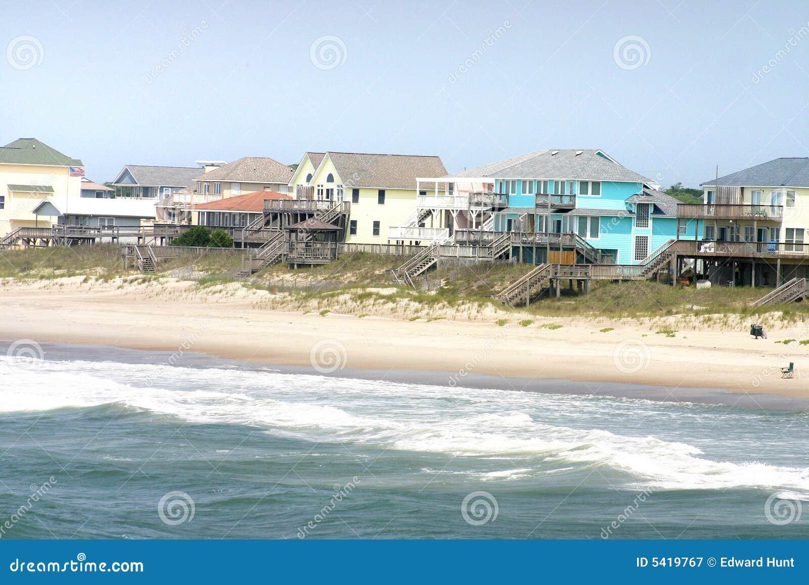 De Huizen van het strand