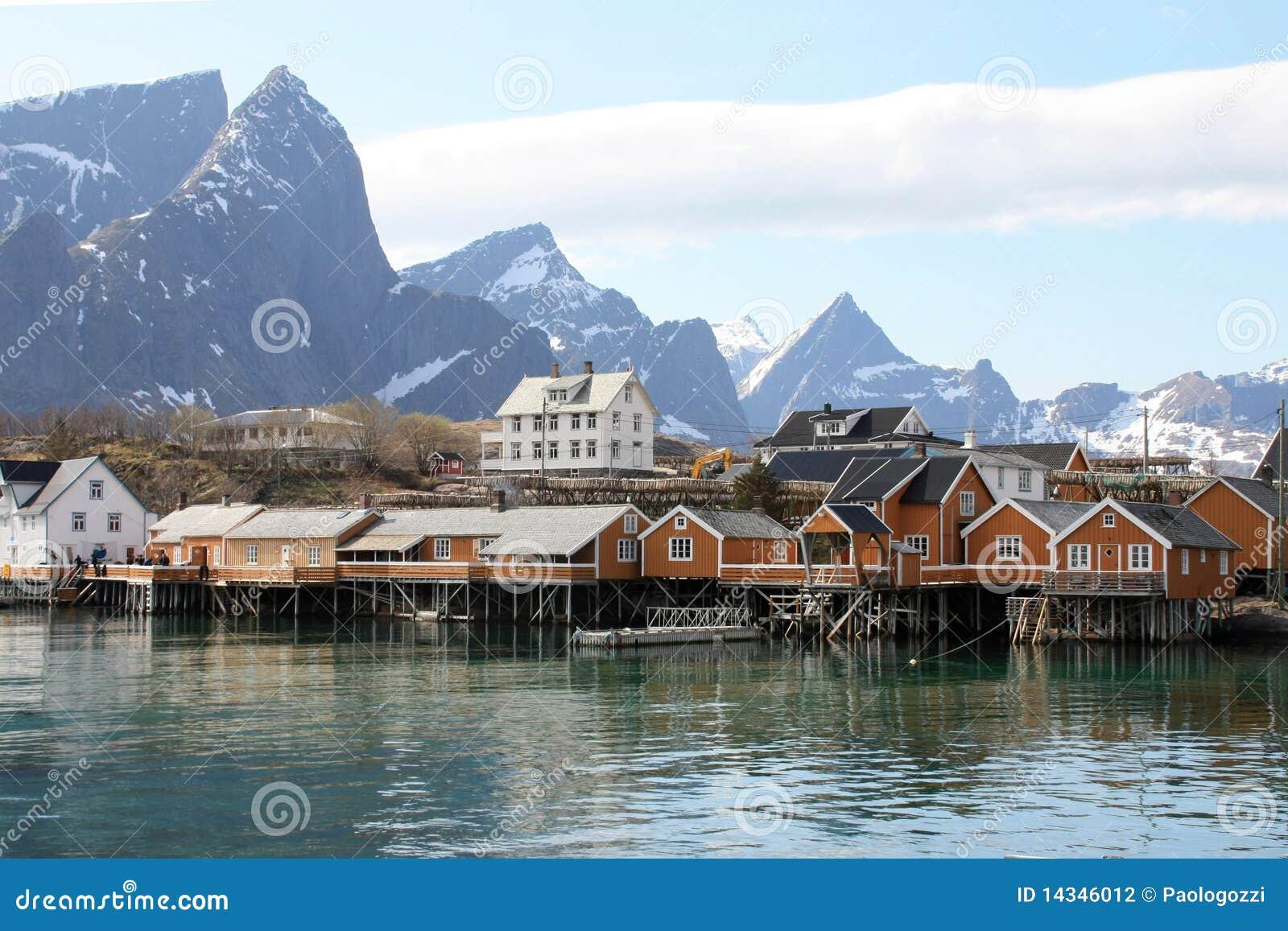De huizen van sakrisoy stock fotografie afbeelding 14346012 - Huizen van de wereldbank ...
