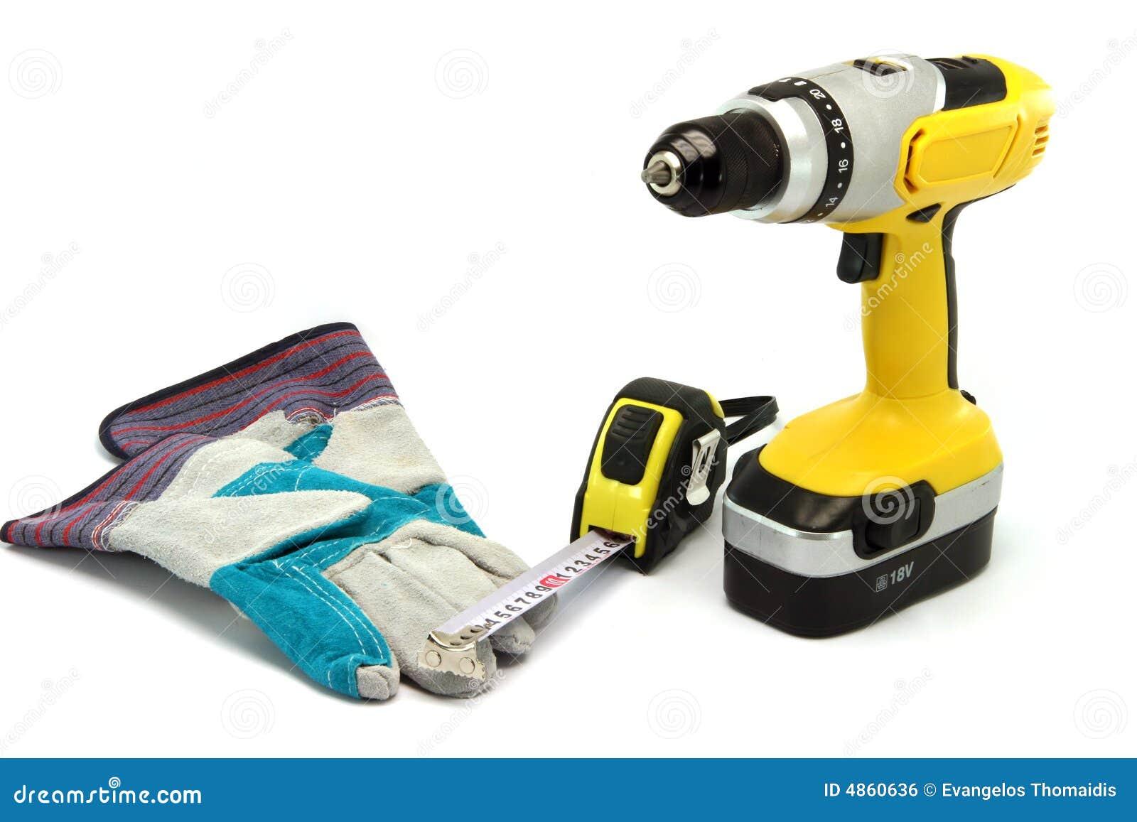 De hulpmiddelen van de hardware