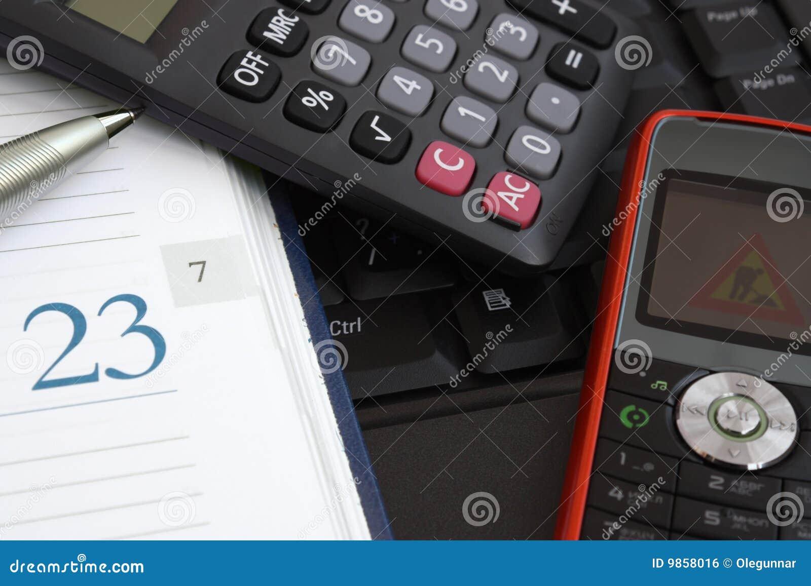 De hulpmiddelen van het bureau