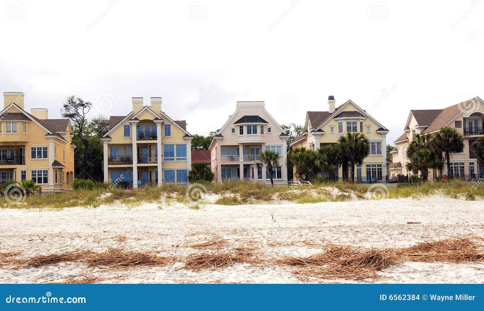 De huur op het strand