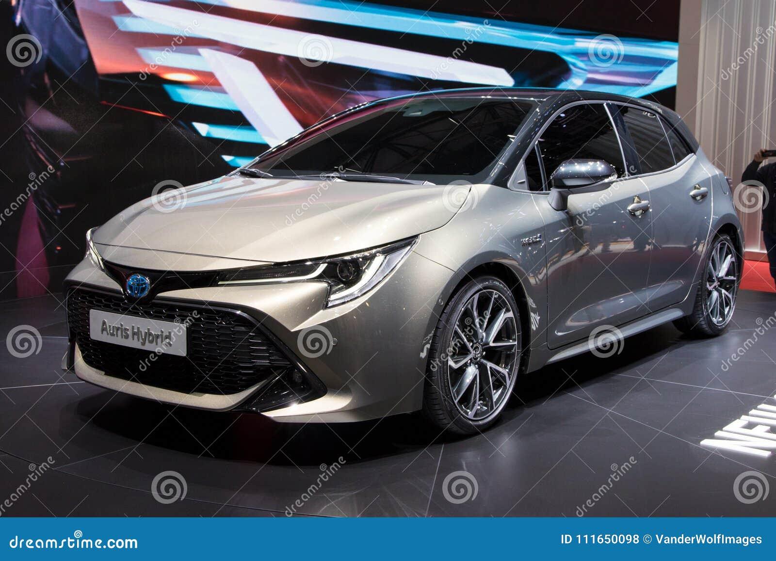 2018 de Hybride auto van Toyota Auris