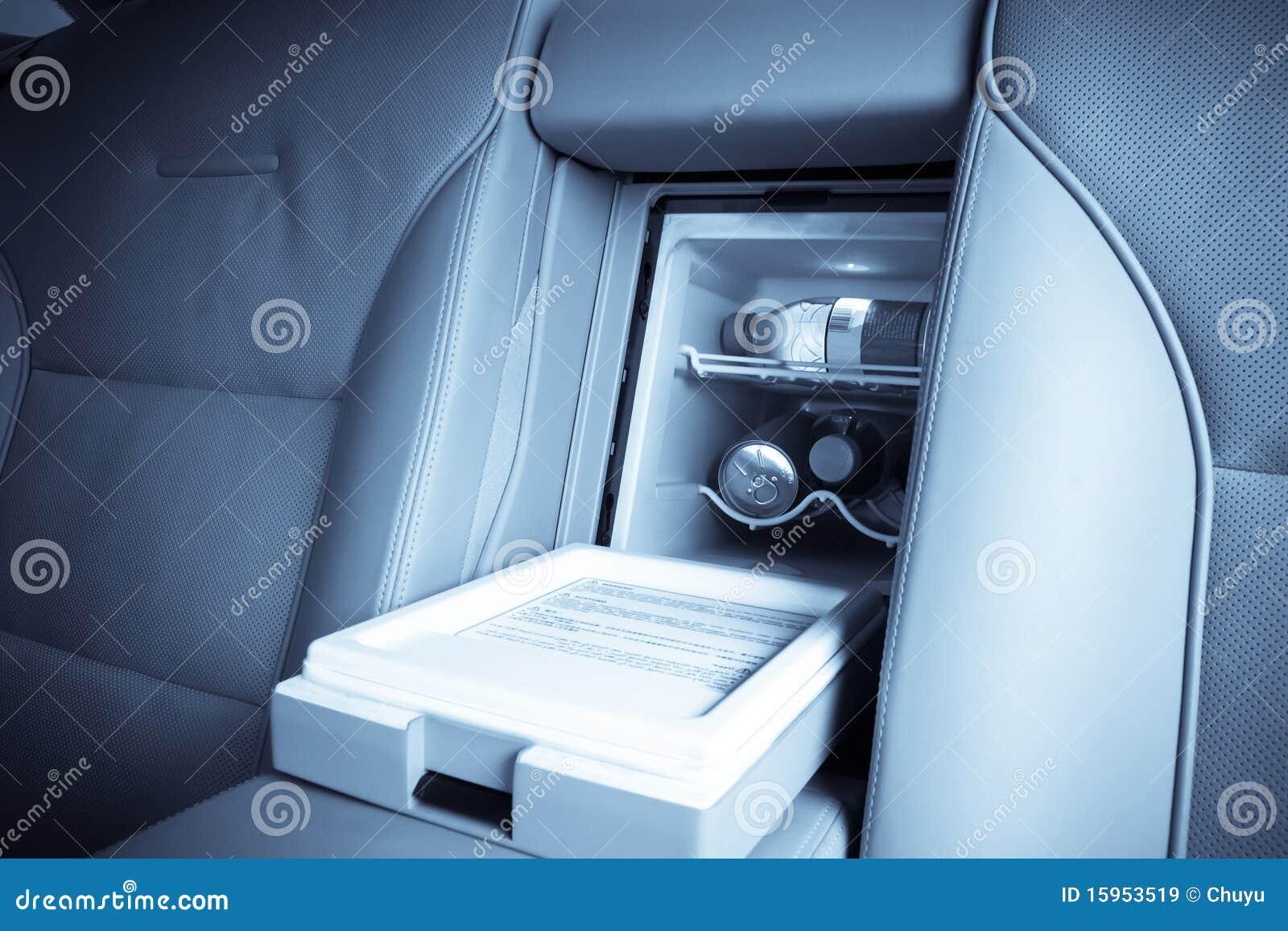 De ijskast van de auto