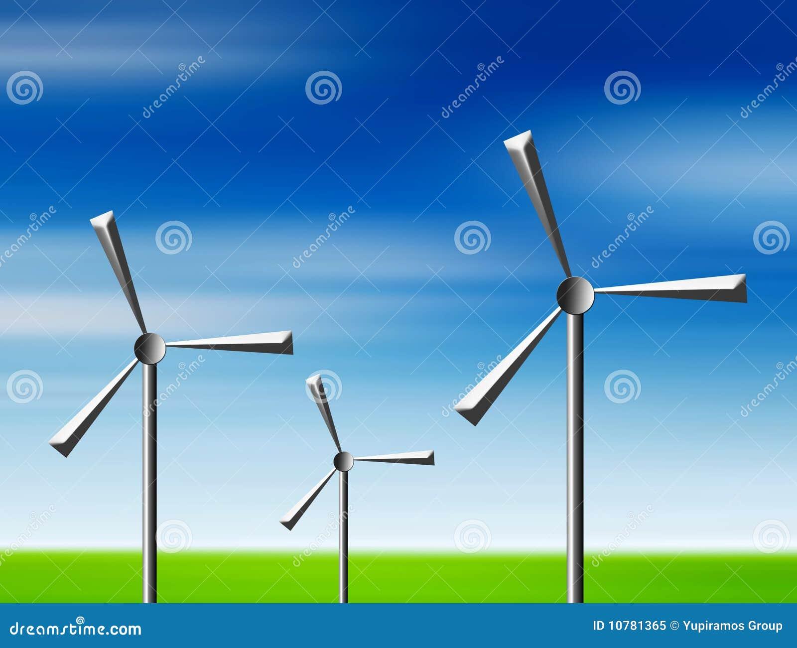 De illustratie van de energie