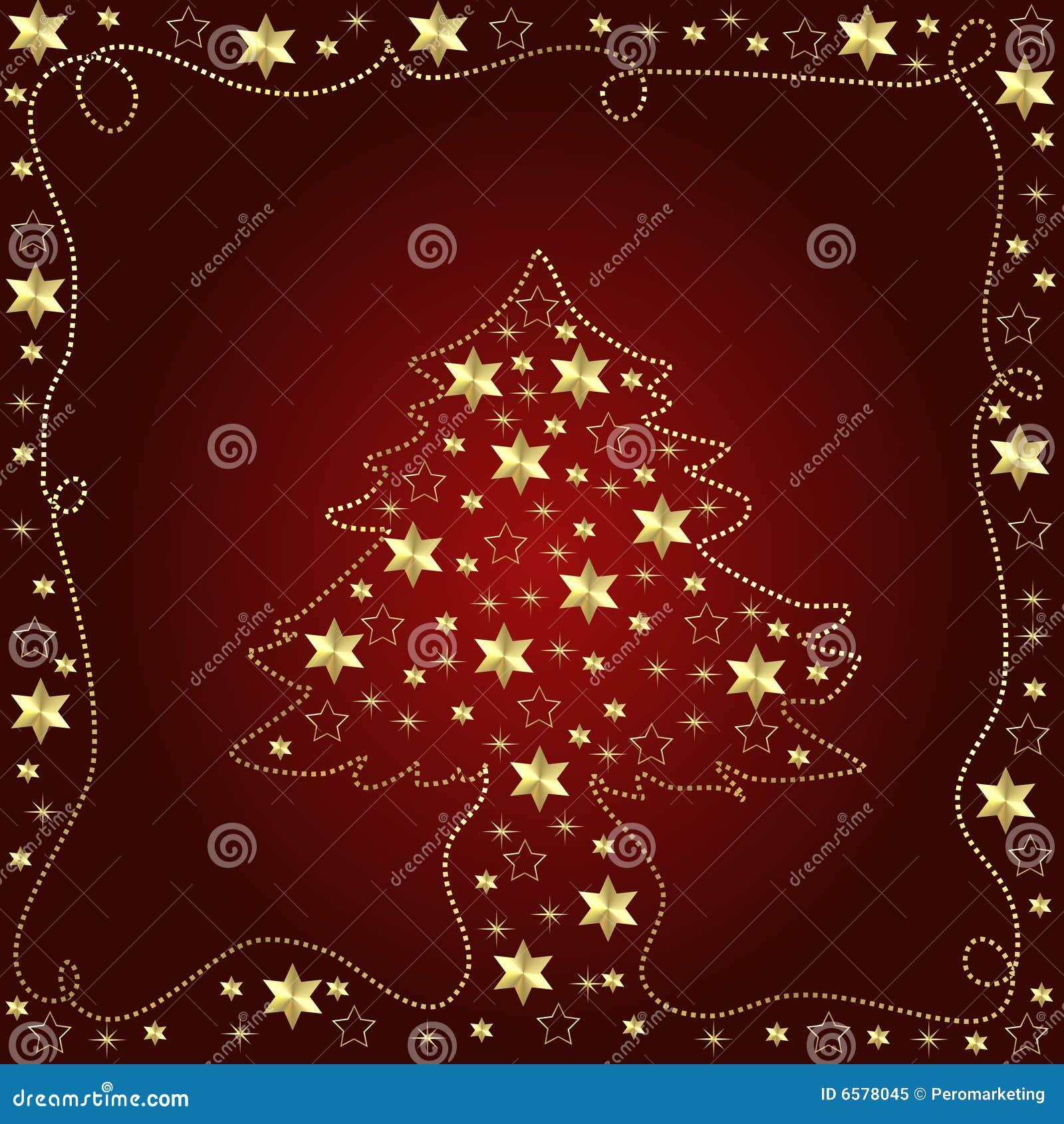 De illustratie van de kerstboom
