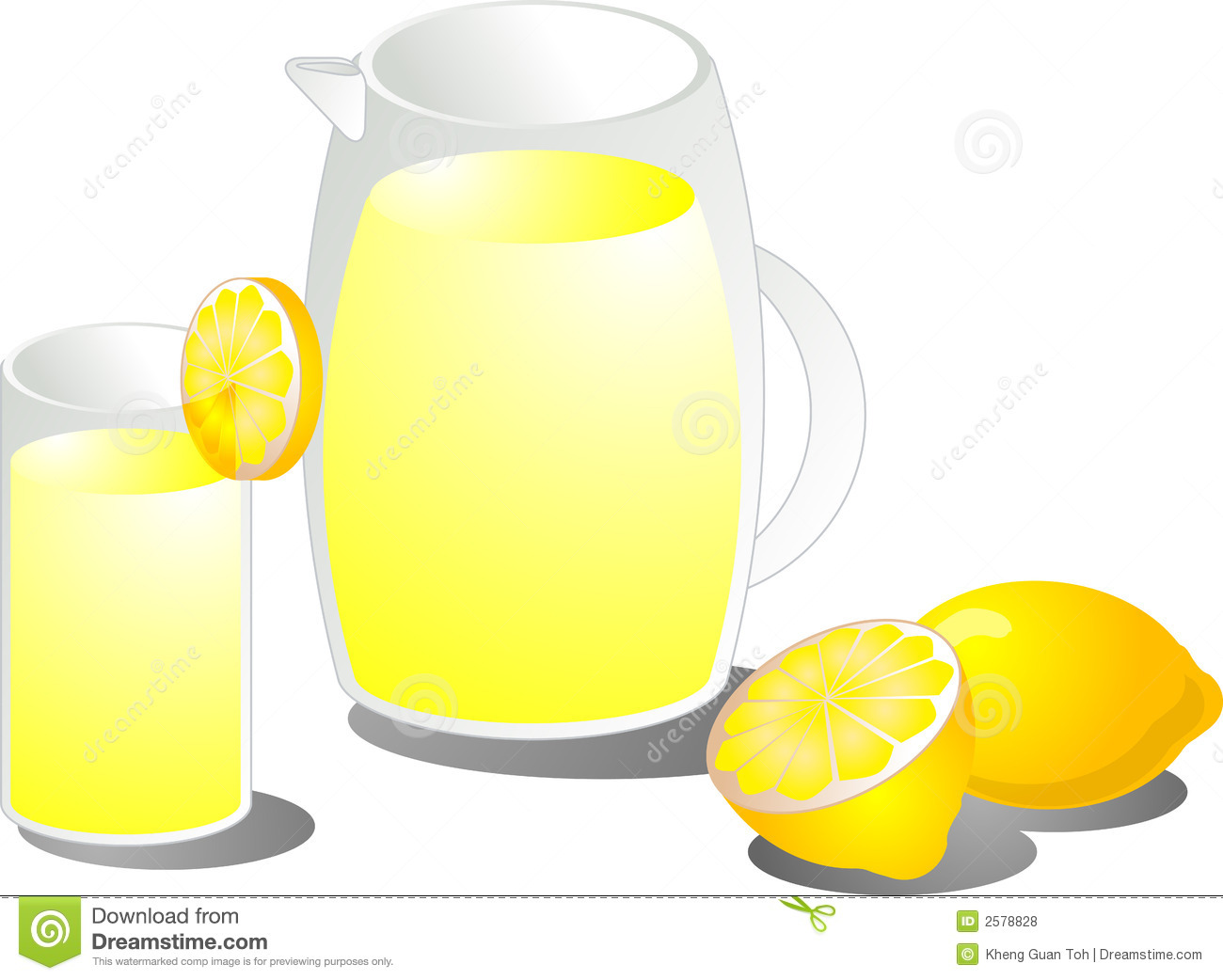 De illustratie van de limonade
