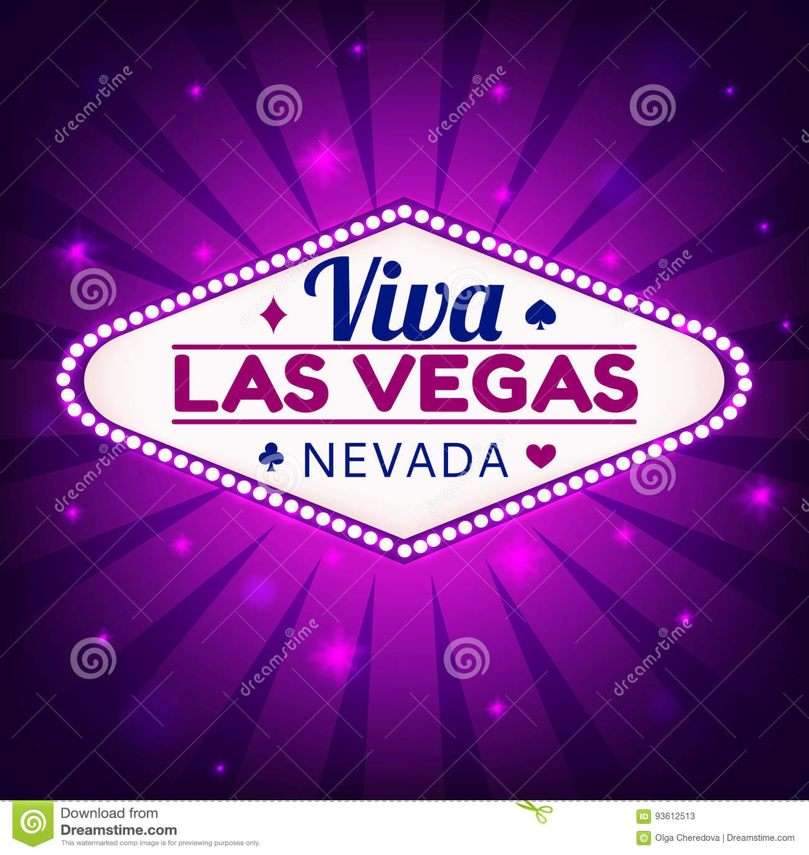 De illustratie van Las Vegas