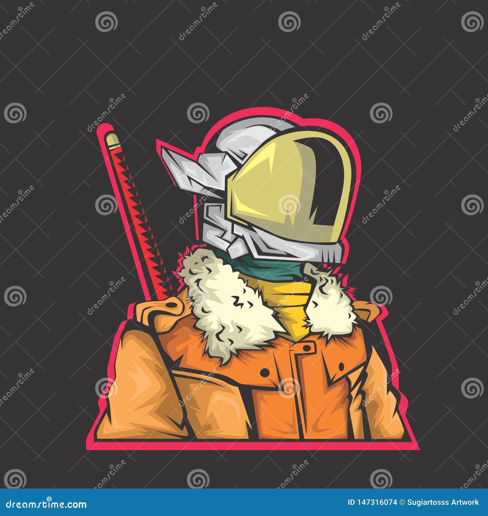 De illustratie van de robotvechter