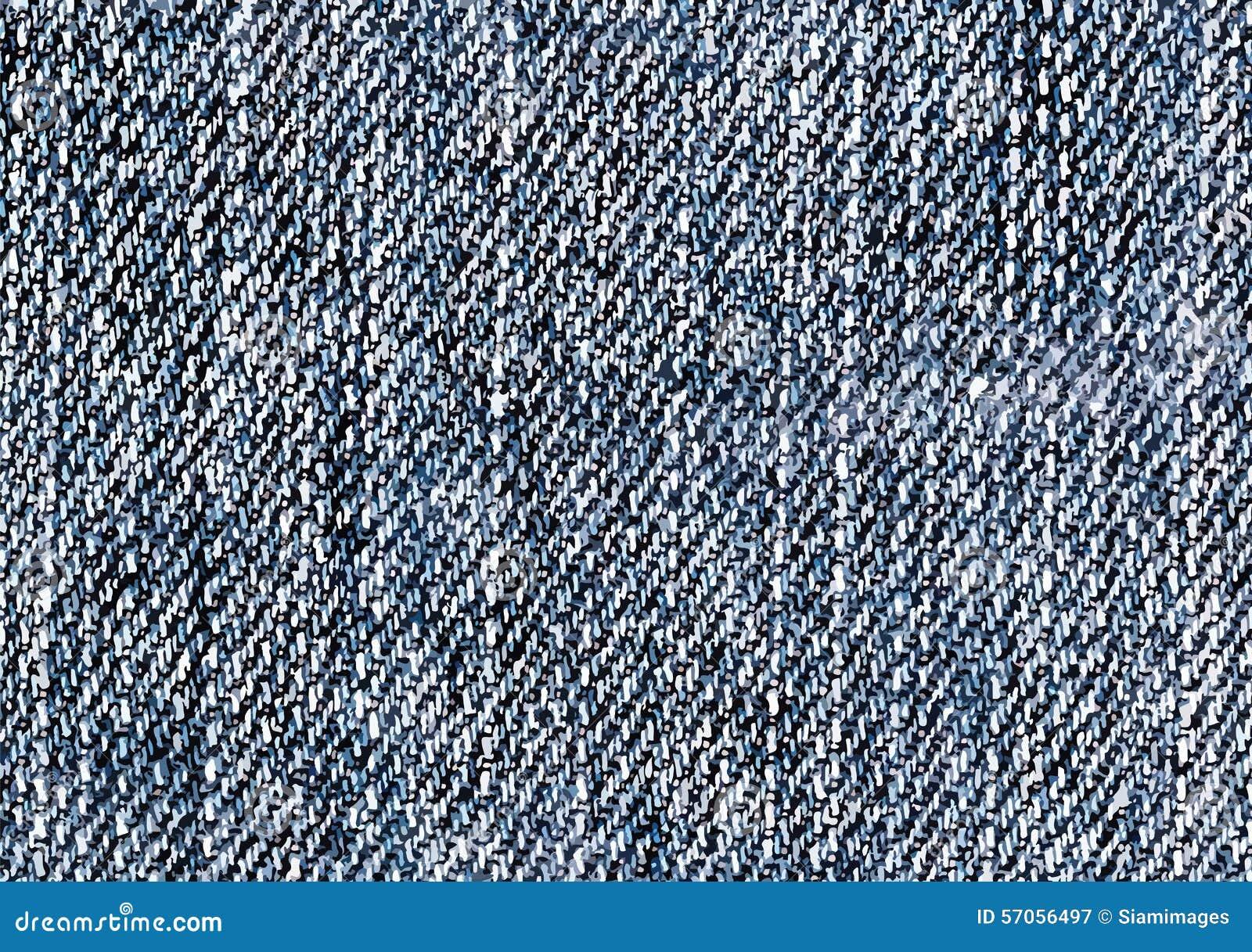 De Illustraties van de jeanstextuur