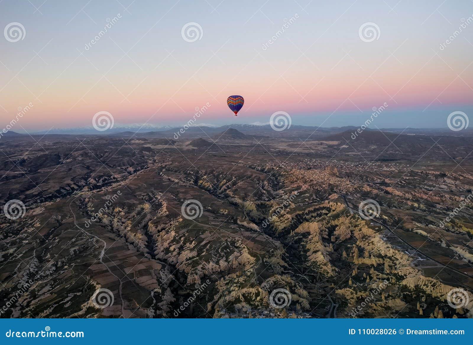 De impulsenreis van Cappadocia göreme