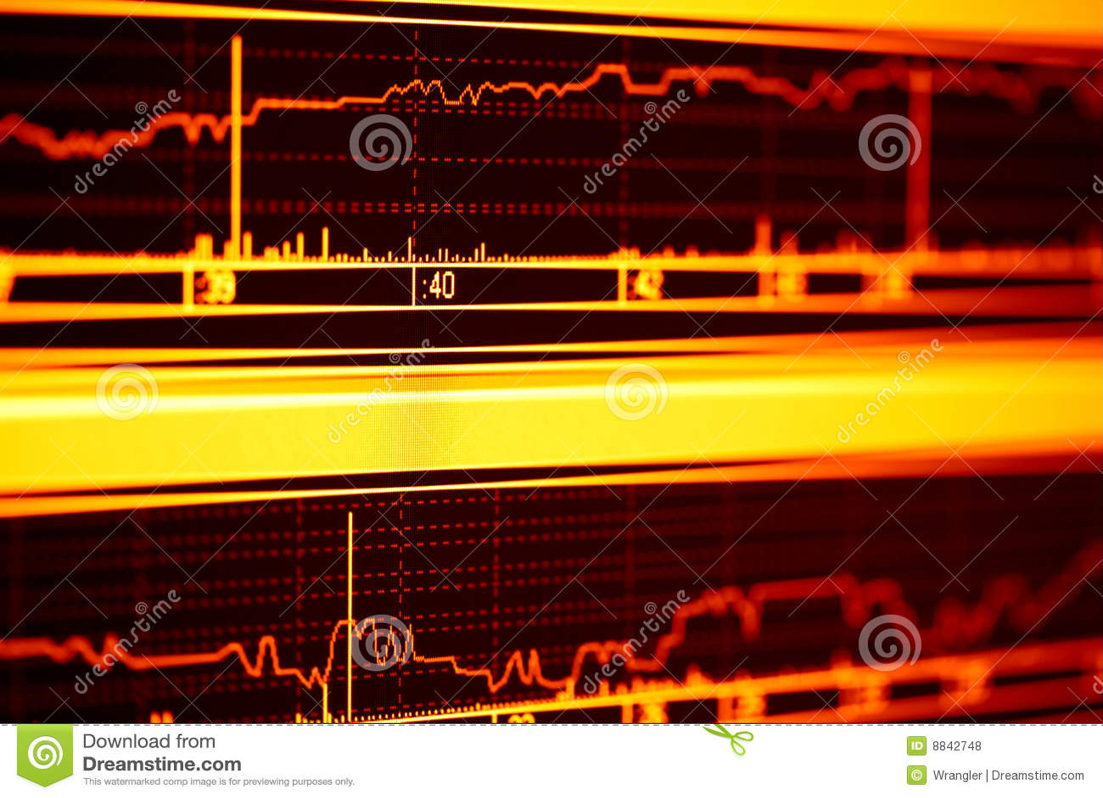 De index van de voorraad.