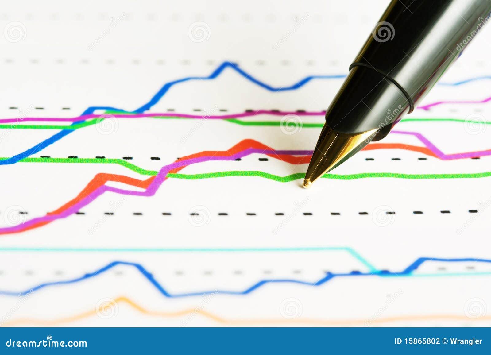 De index van de vulpen en van de voorraad.