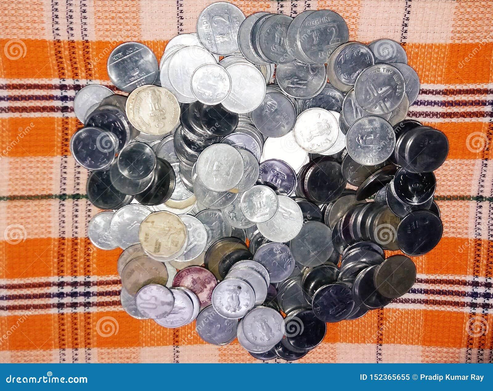 De indiska mynten som publiceras på olika tider