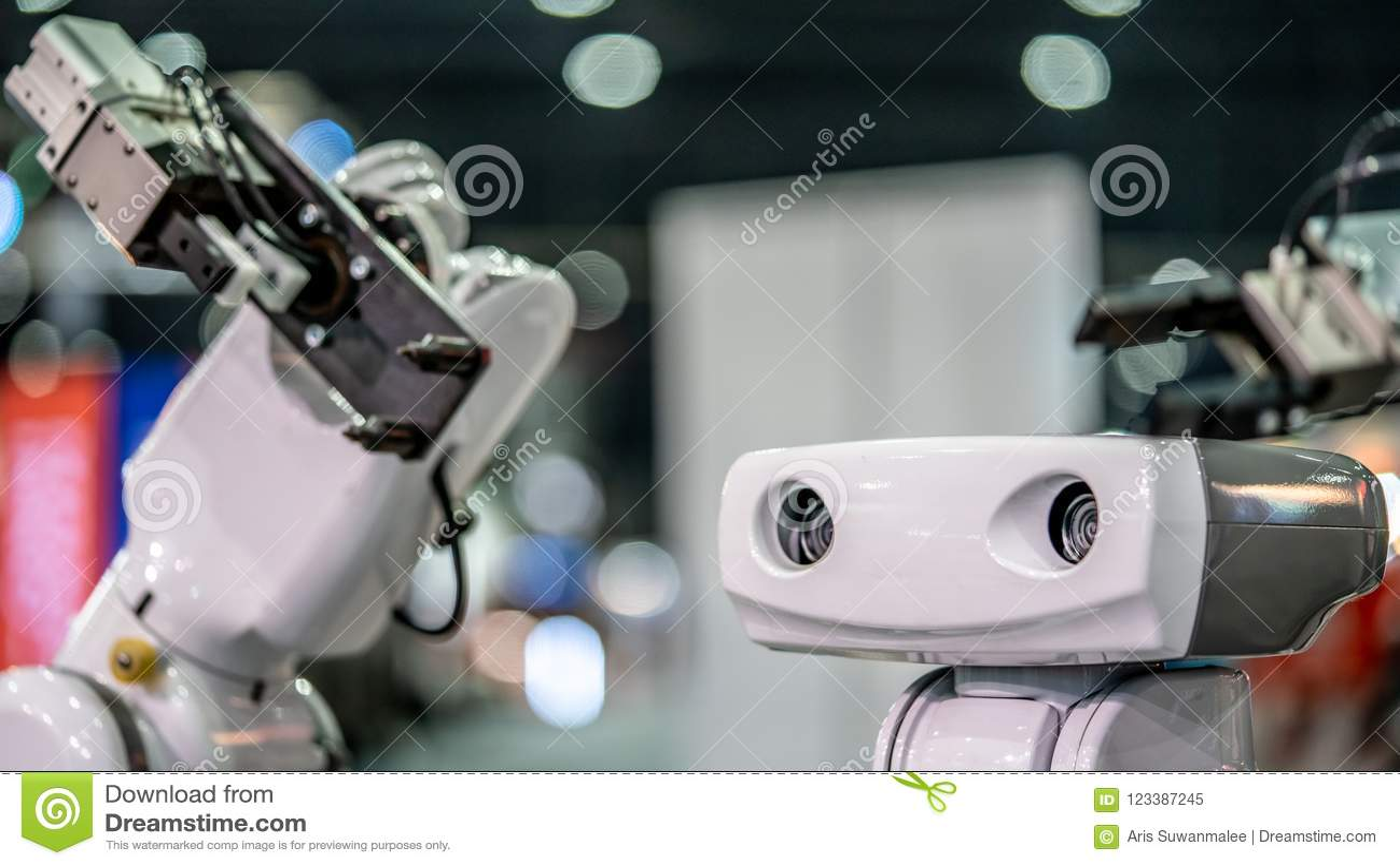 De industriële Hand van het Robot Mechanische Wapen