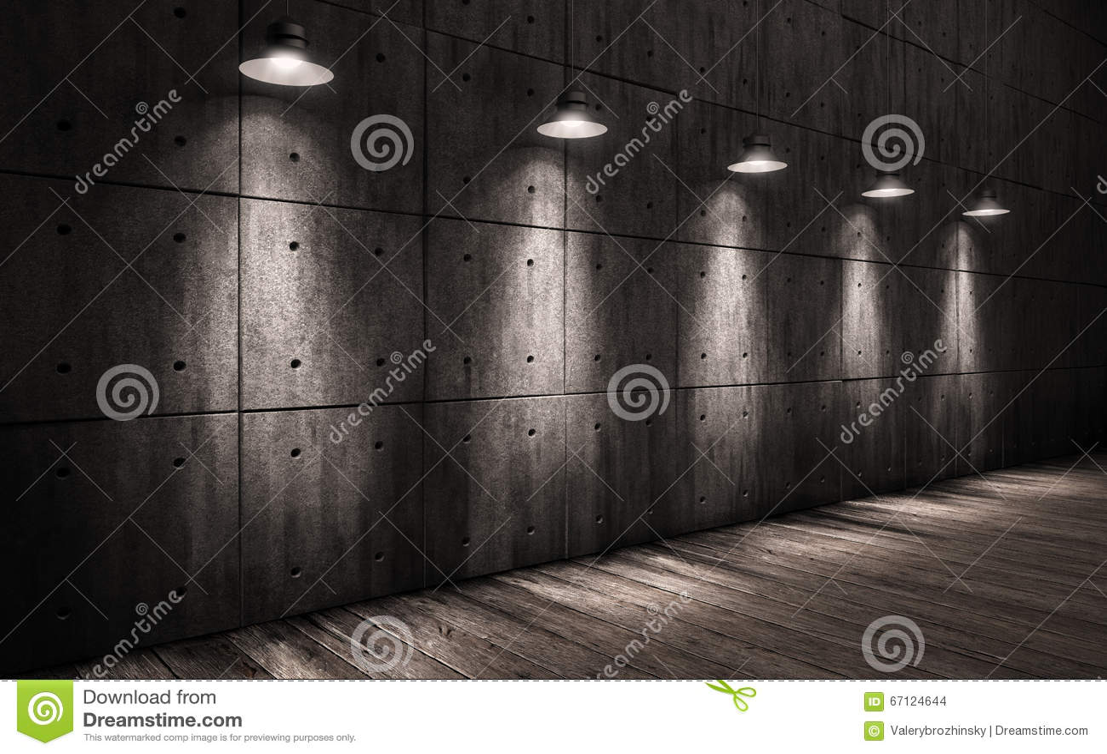 Gebruikte Industriele Lampen : De industriële lampen van het grungeachtergrond verlichte plafond